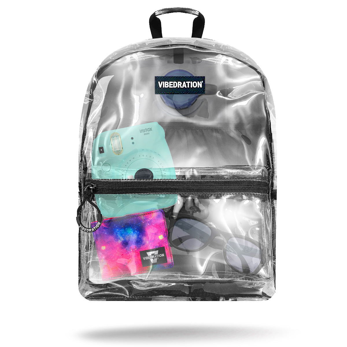 Clear Hydration Pack for raves and music festivals