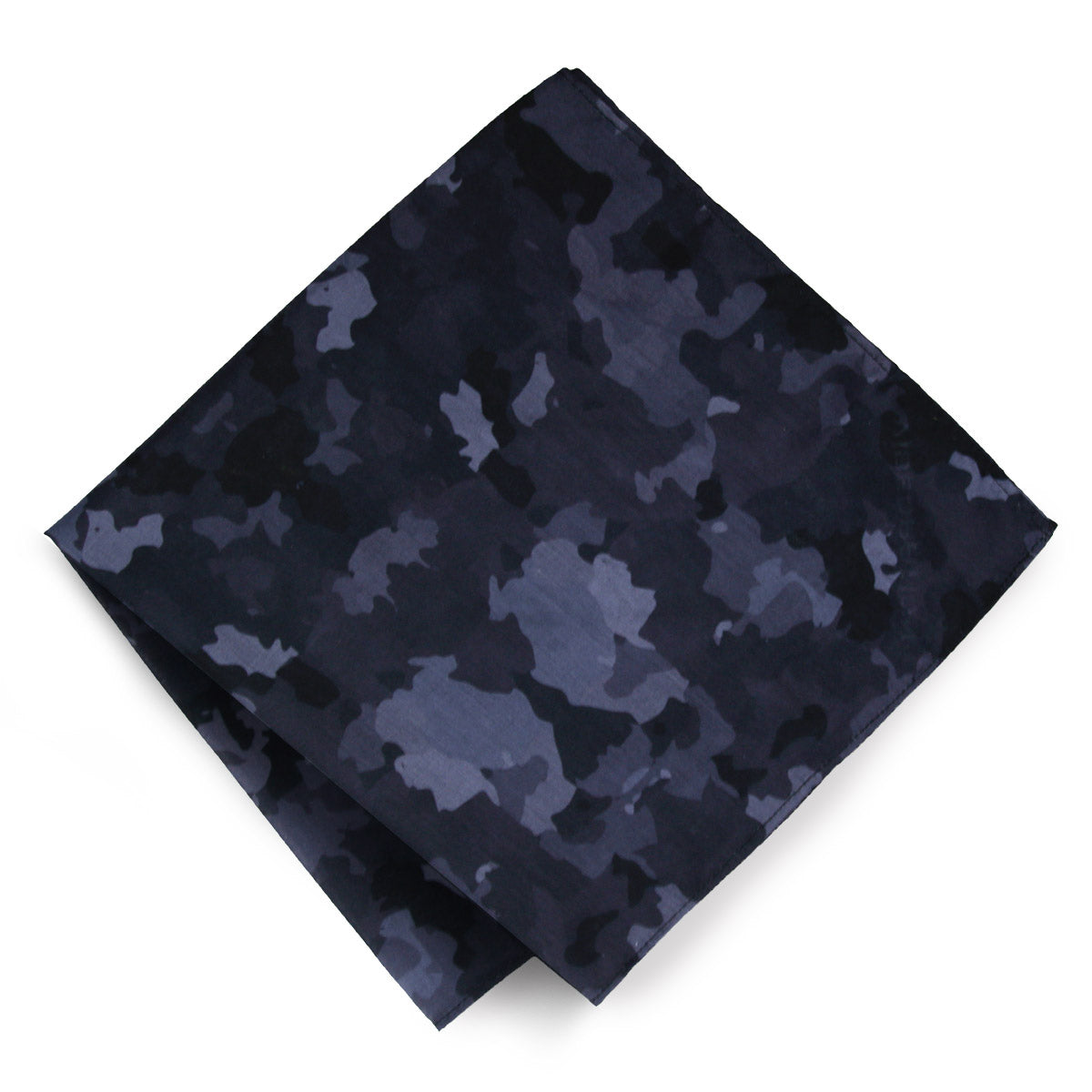 Black and Grey Vibedration Square Festival Bandana