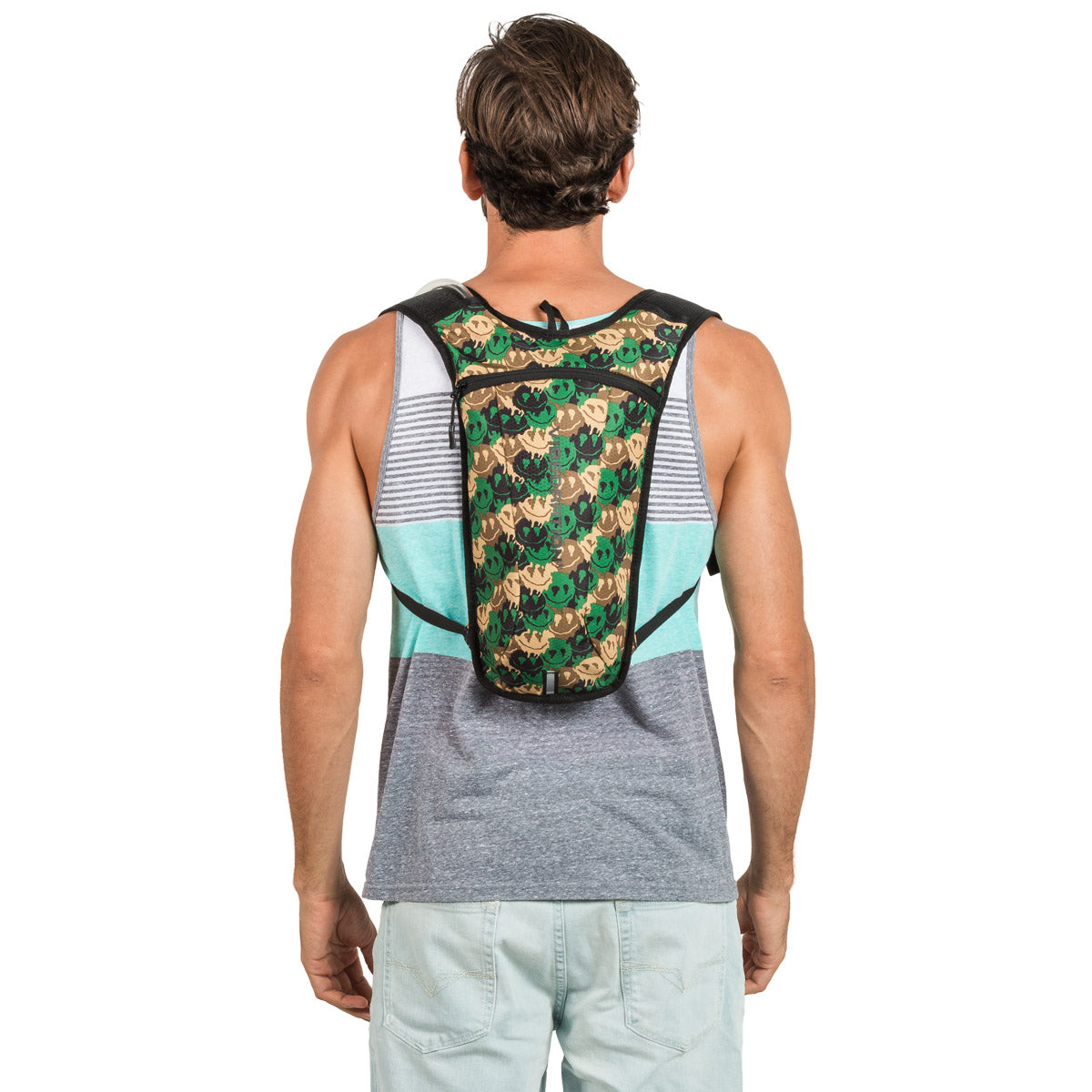 Camouflage Hydration Pack for Music Festivals