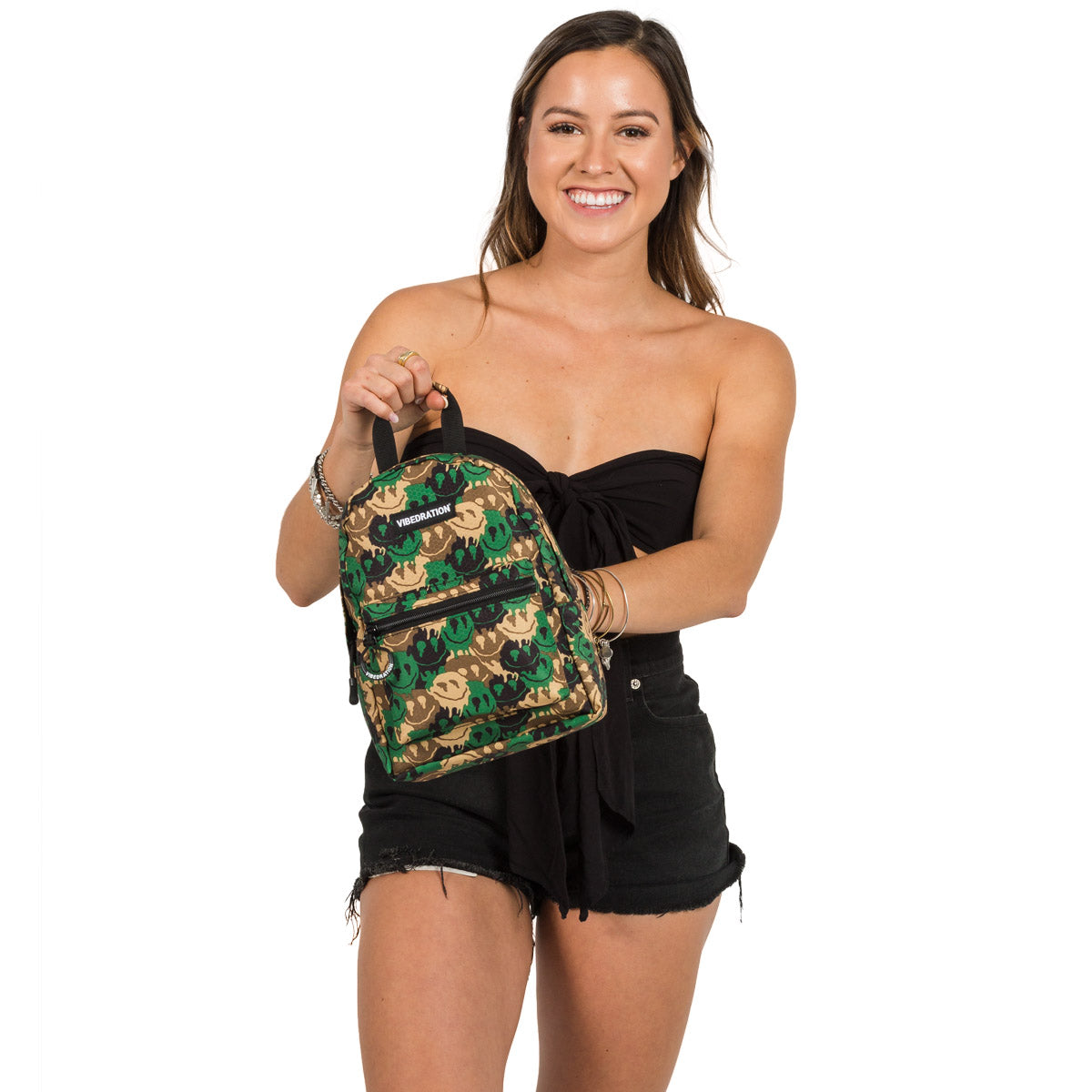Camouflage Mini Backpack for Music Festivals