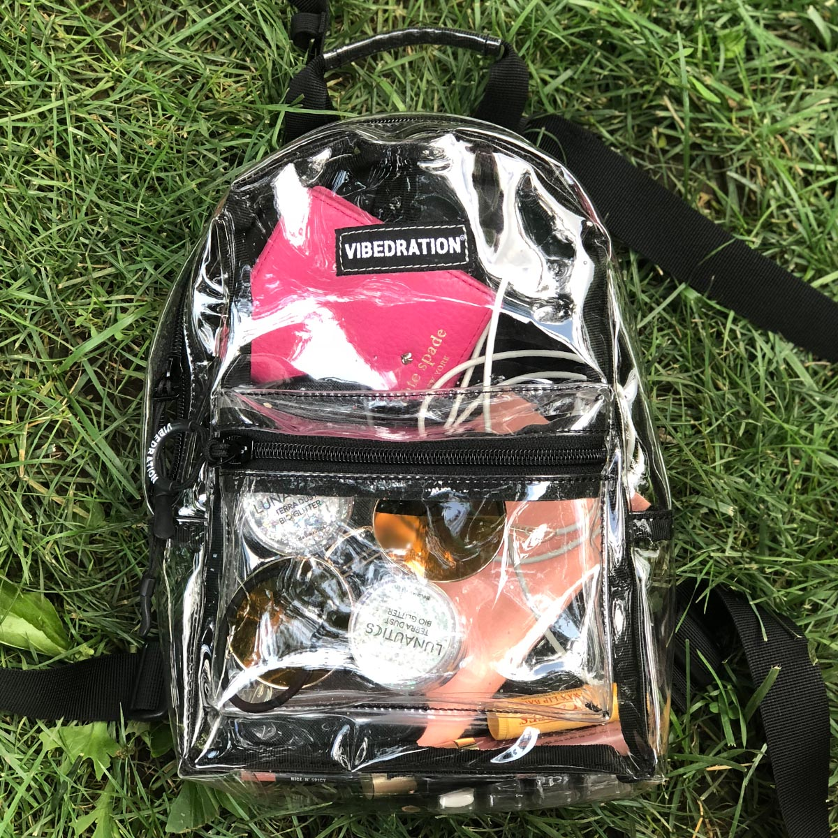 Clear Backpack for Music Festivals and Concerts