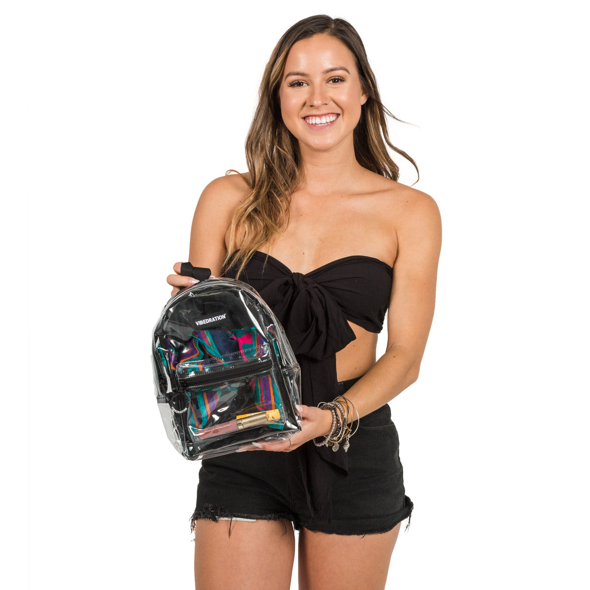 Clear Mini Backpack for Raves