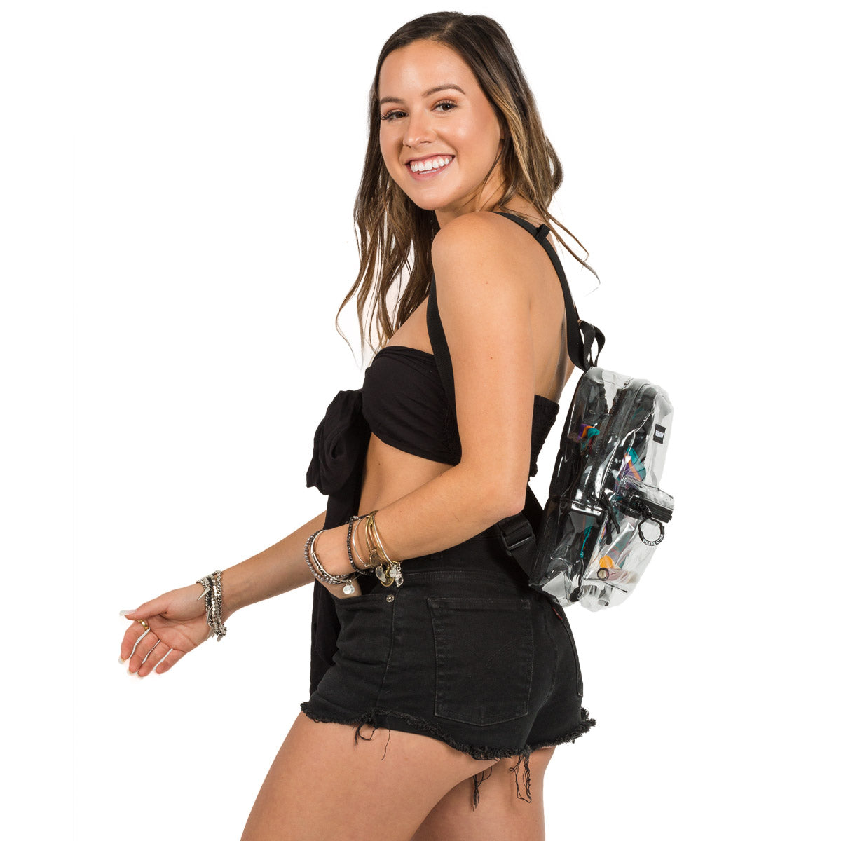 Clear Mini Backpack for Ultra Music Festival