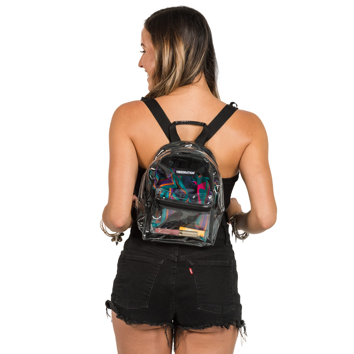 Clear Mini Backpacks for Stadiums and events