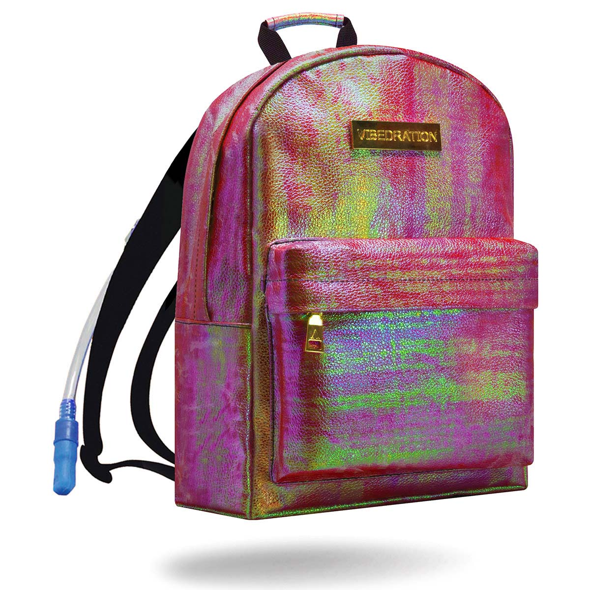 Iridescent Pink Water Backpack with 1.5 Liter Water Capacity