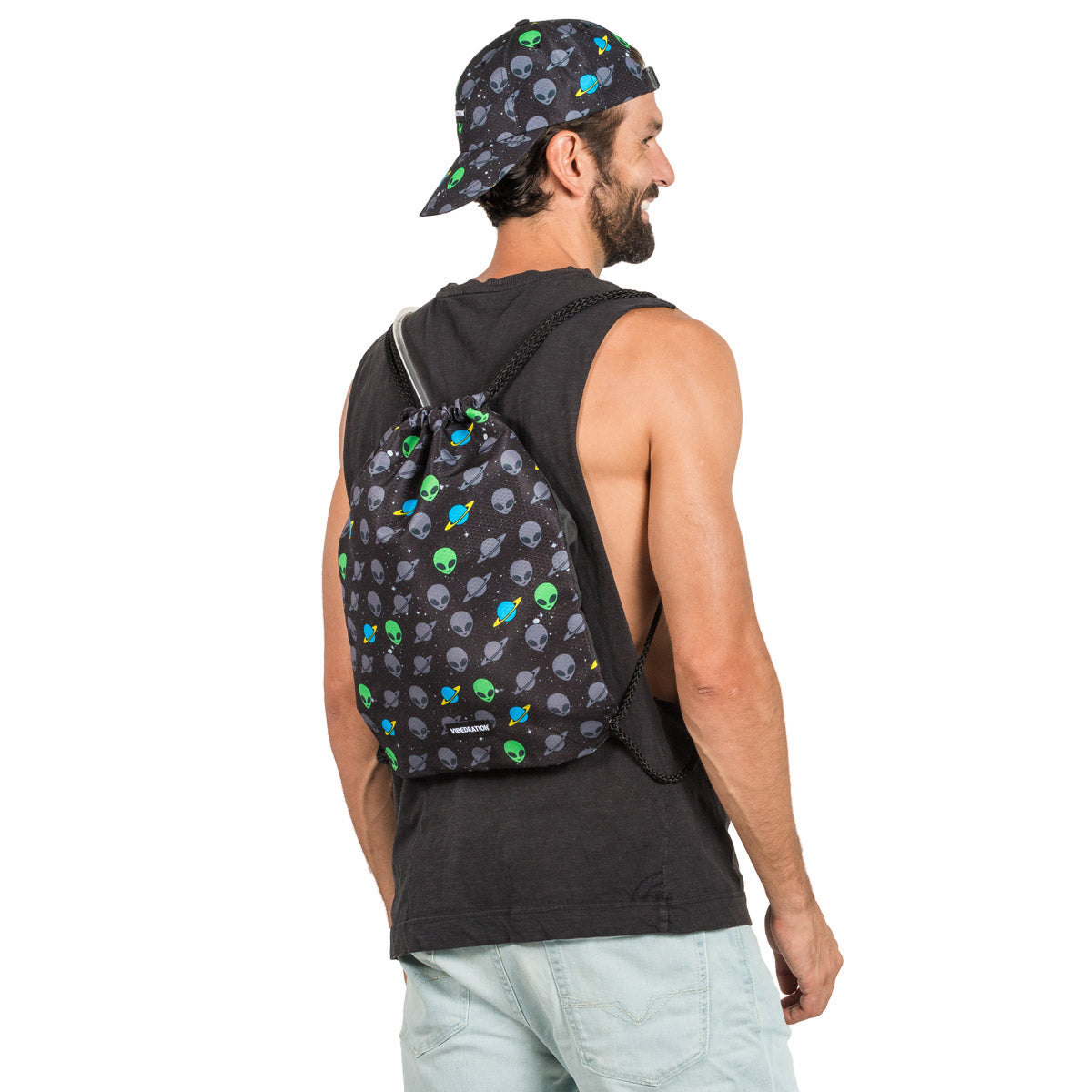 Black Alien 3 Liter Festival Backpack