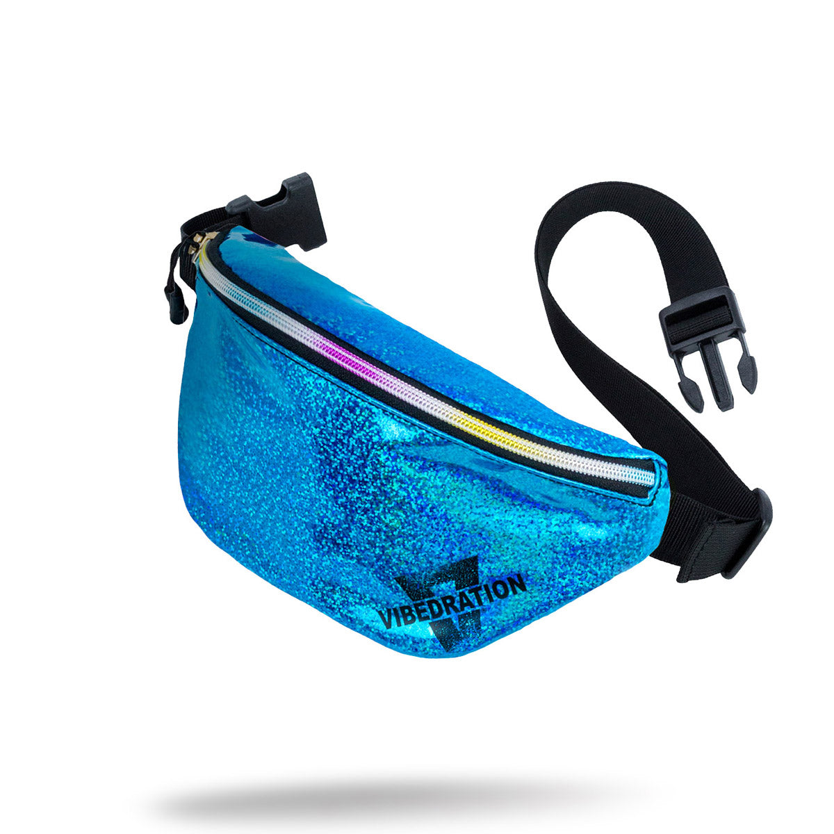 Blue Holographic Fanny Pack for EDC