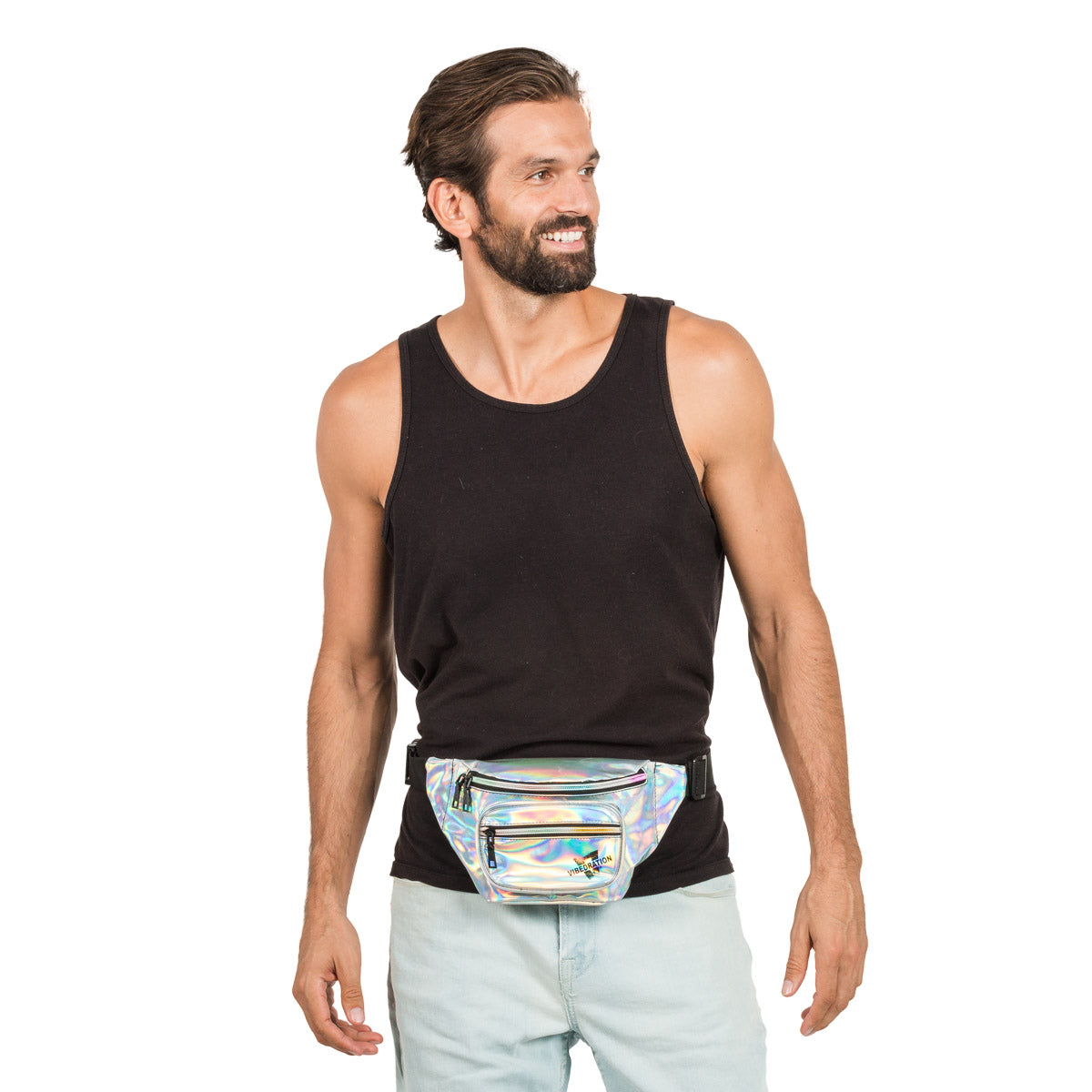 Holographic Fanny Pack for Raves