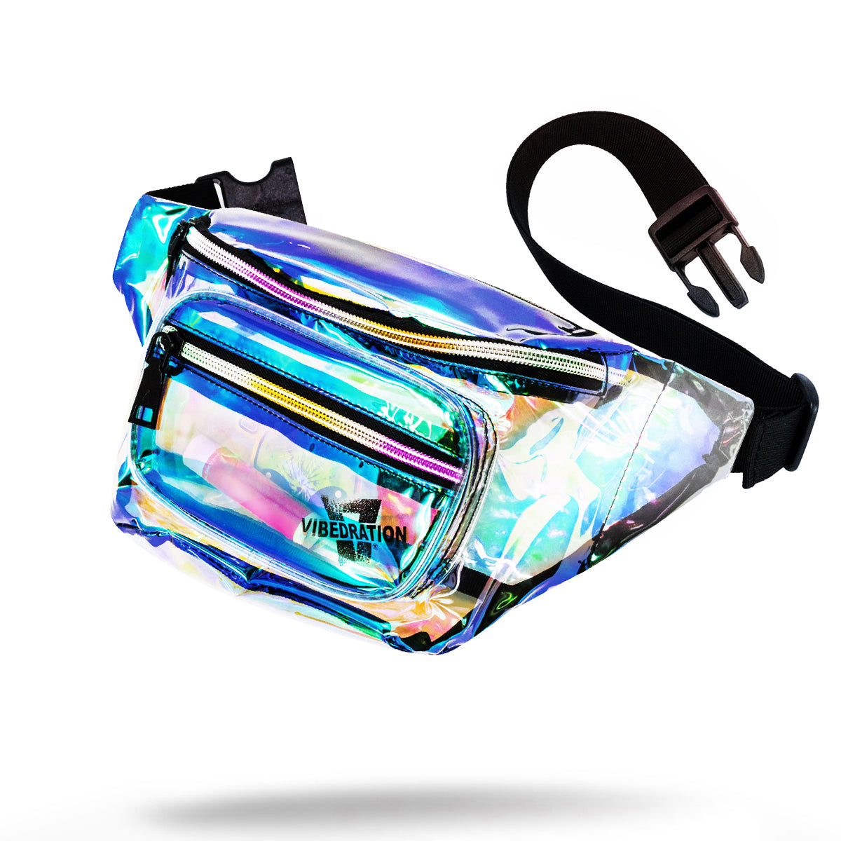 Iridescent Fanny Pack for Raves