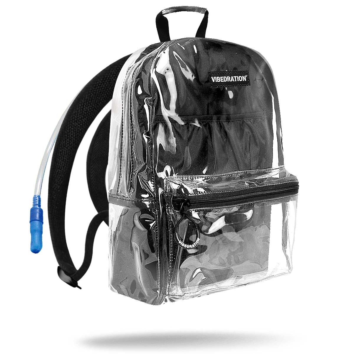 Clear hydration pack