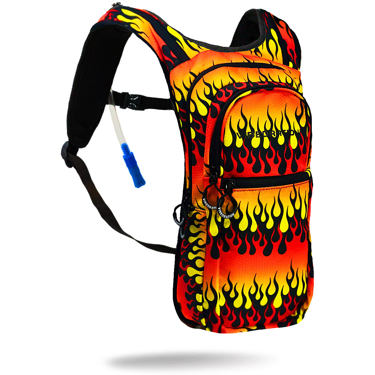 Fire Printed VIP 2.0L EDC Festival Hydration Pack - Product Shot