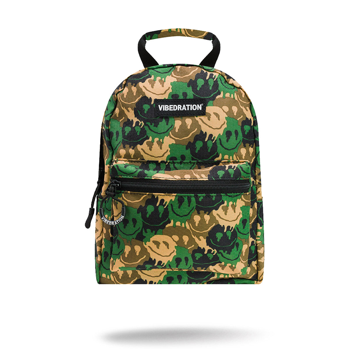 Camo Smileys Mini Backpack for Music Festivals