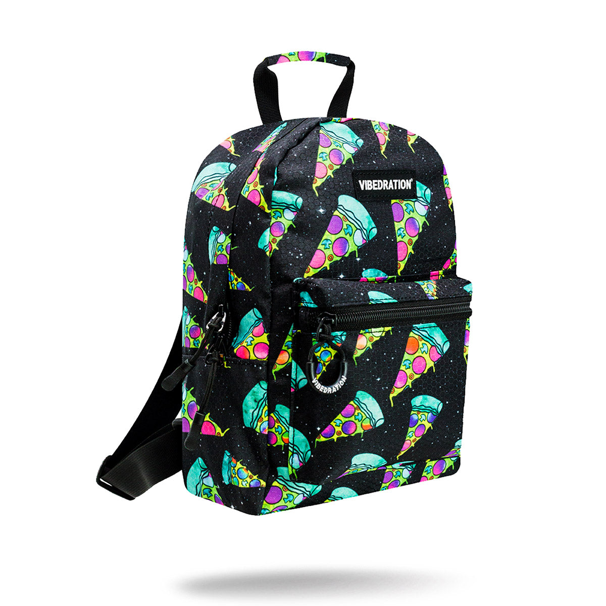 Cosmic Pizza Mini Backpack for Raves