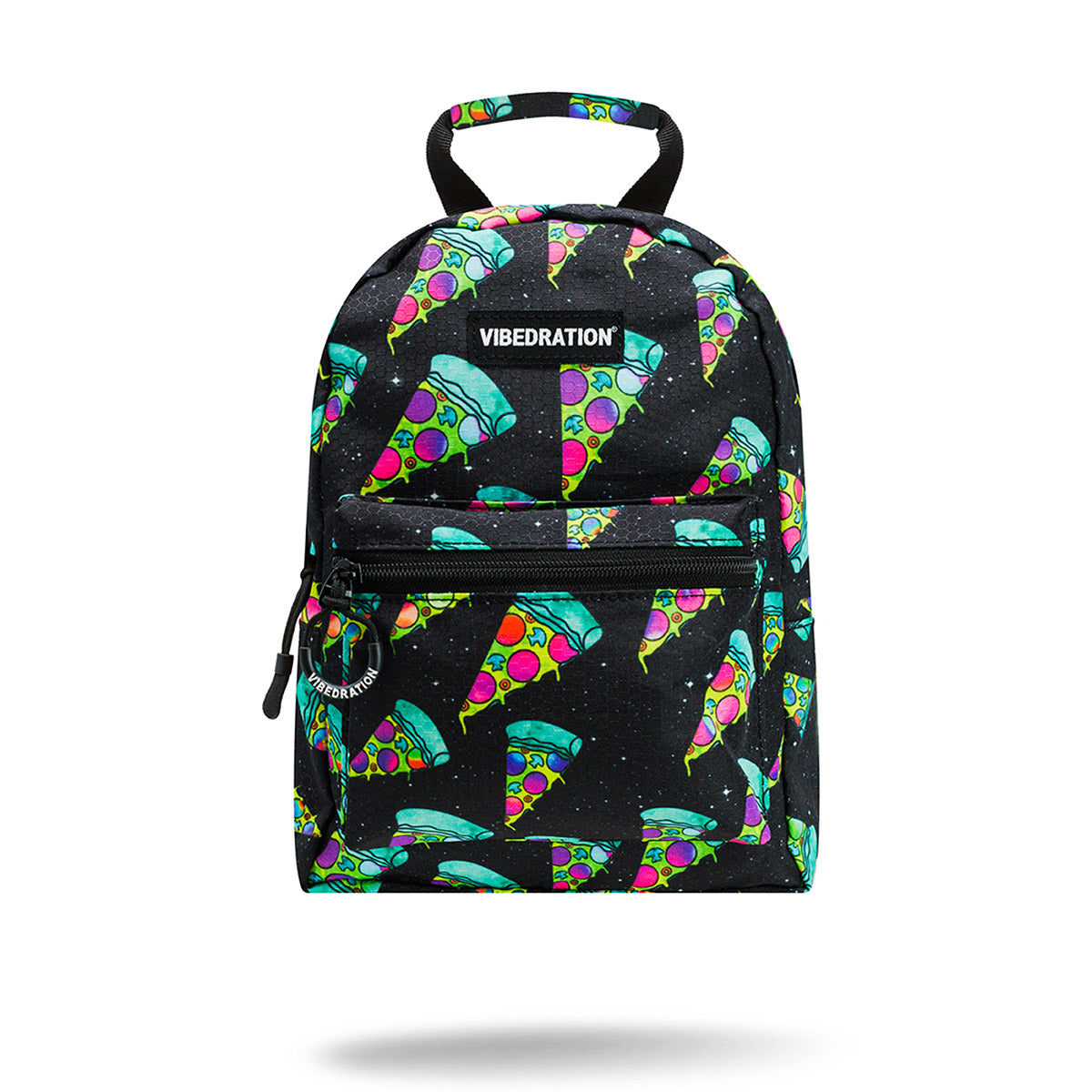 Cosmic Pizza Mini Backpack for Music Festivals