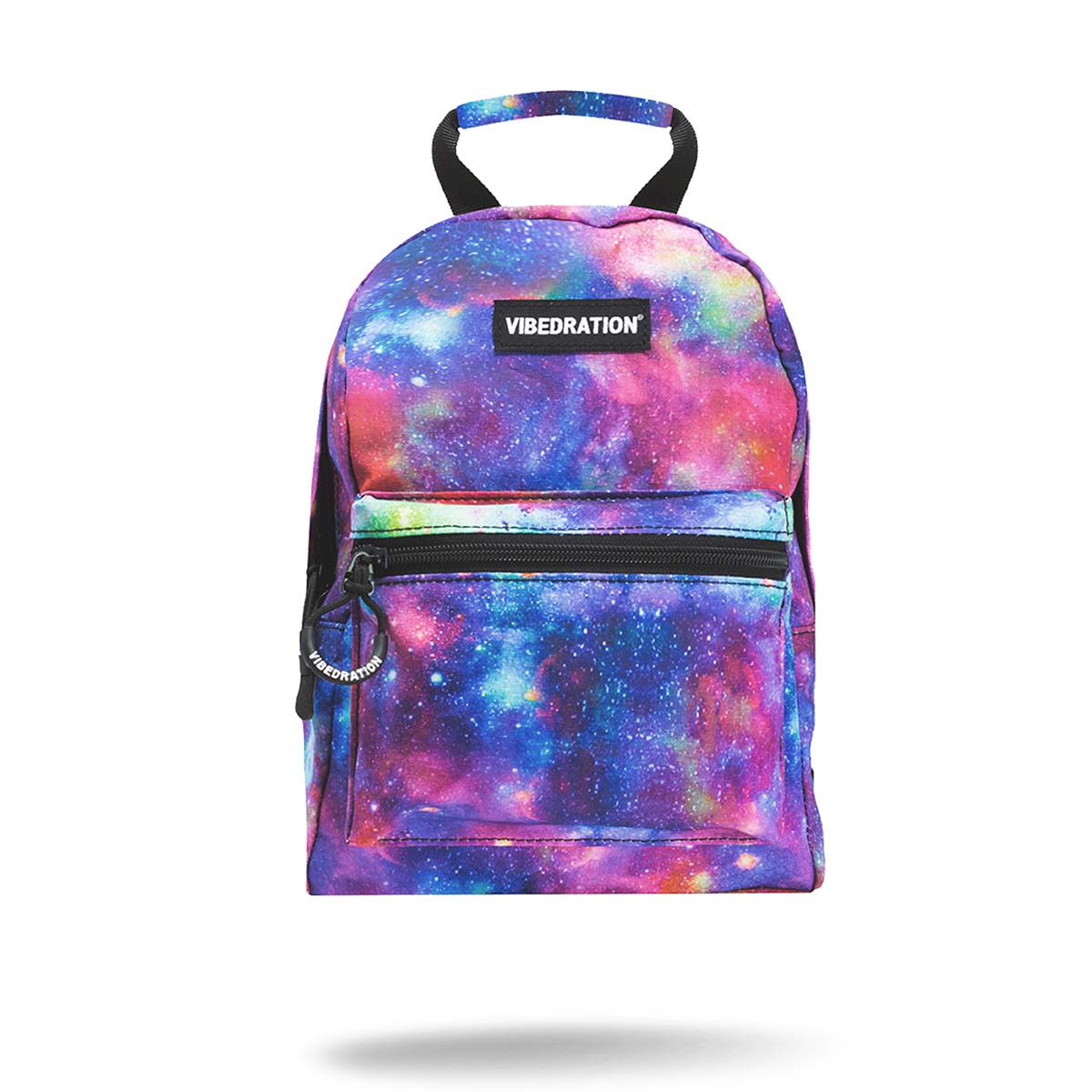 Purple blue and pink Galaxy Printed Mini Backpack