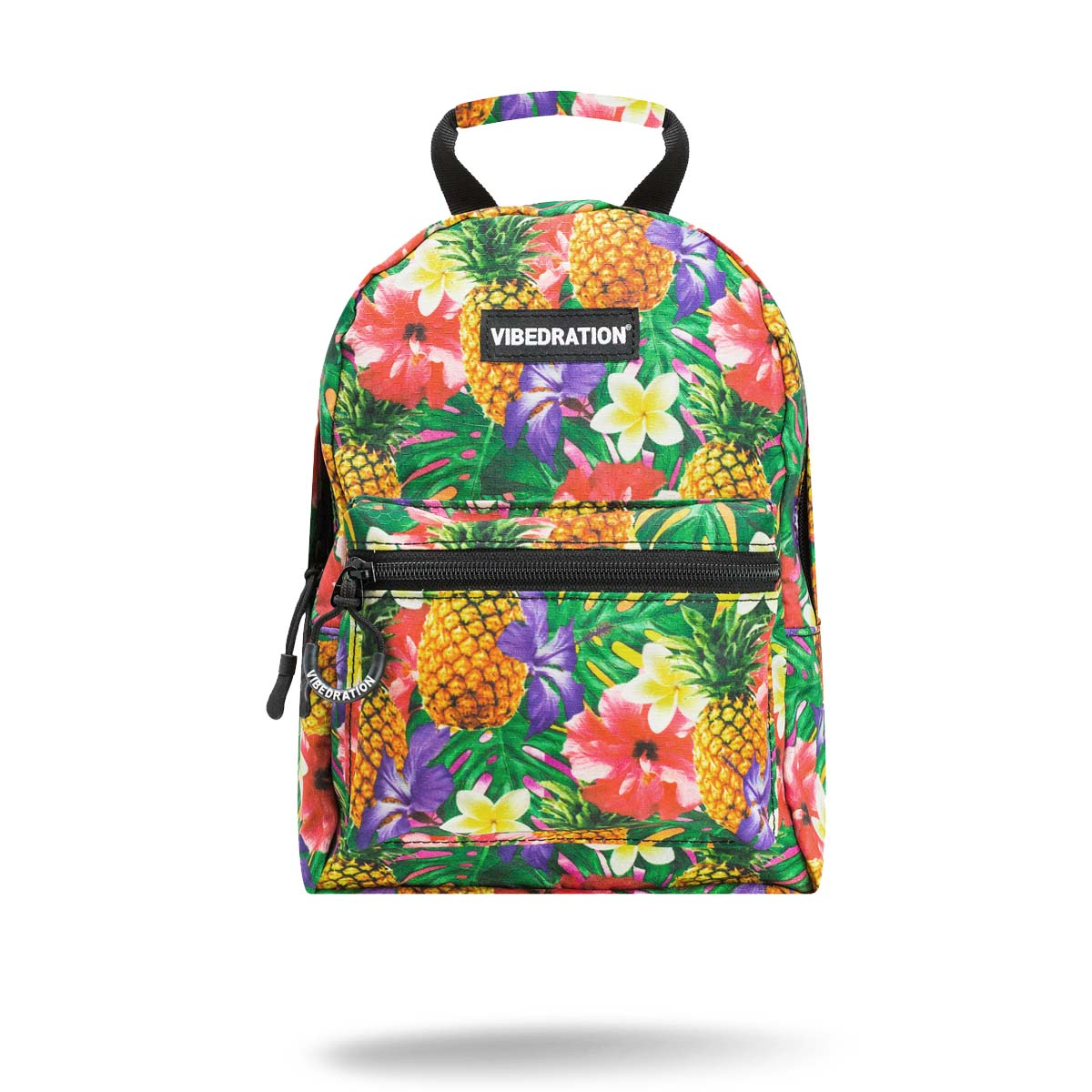 Hawaiian printed mini backpack for festivals