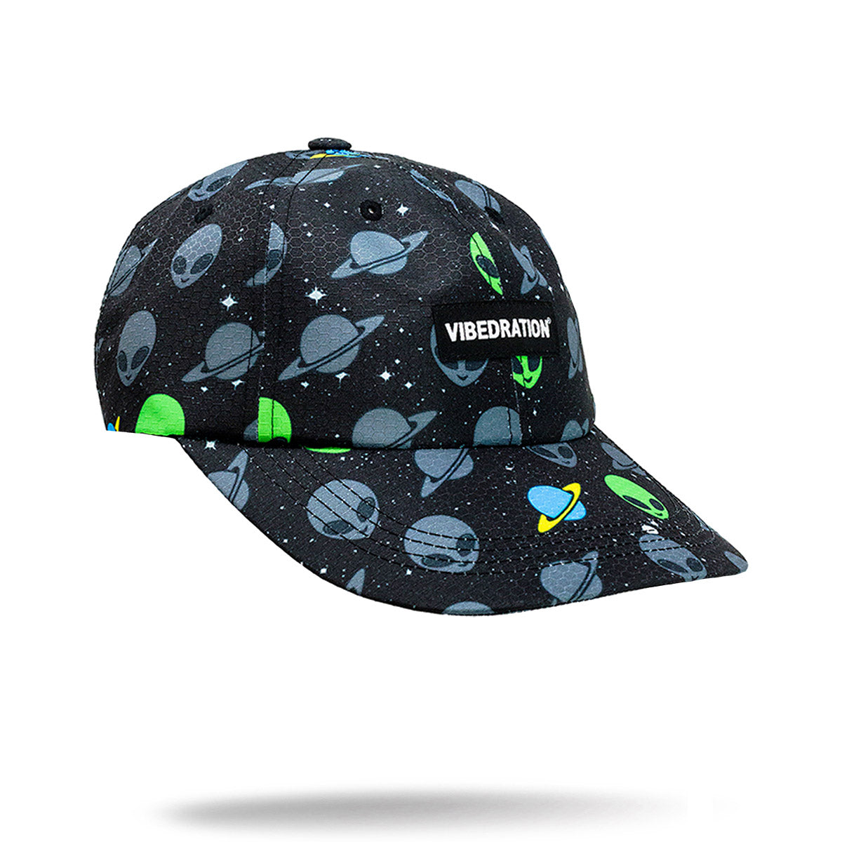 Alien printed hat