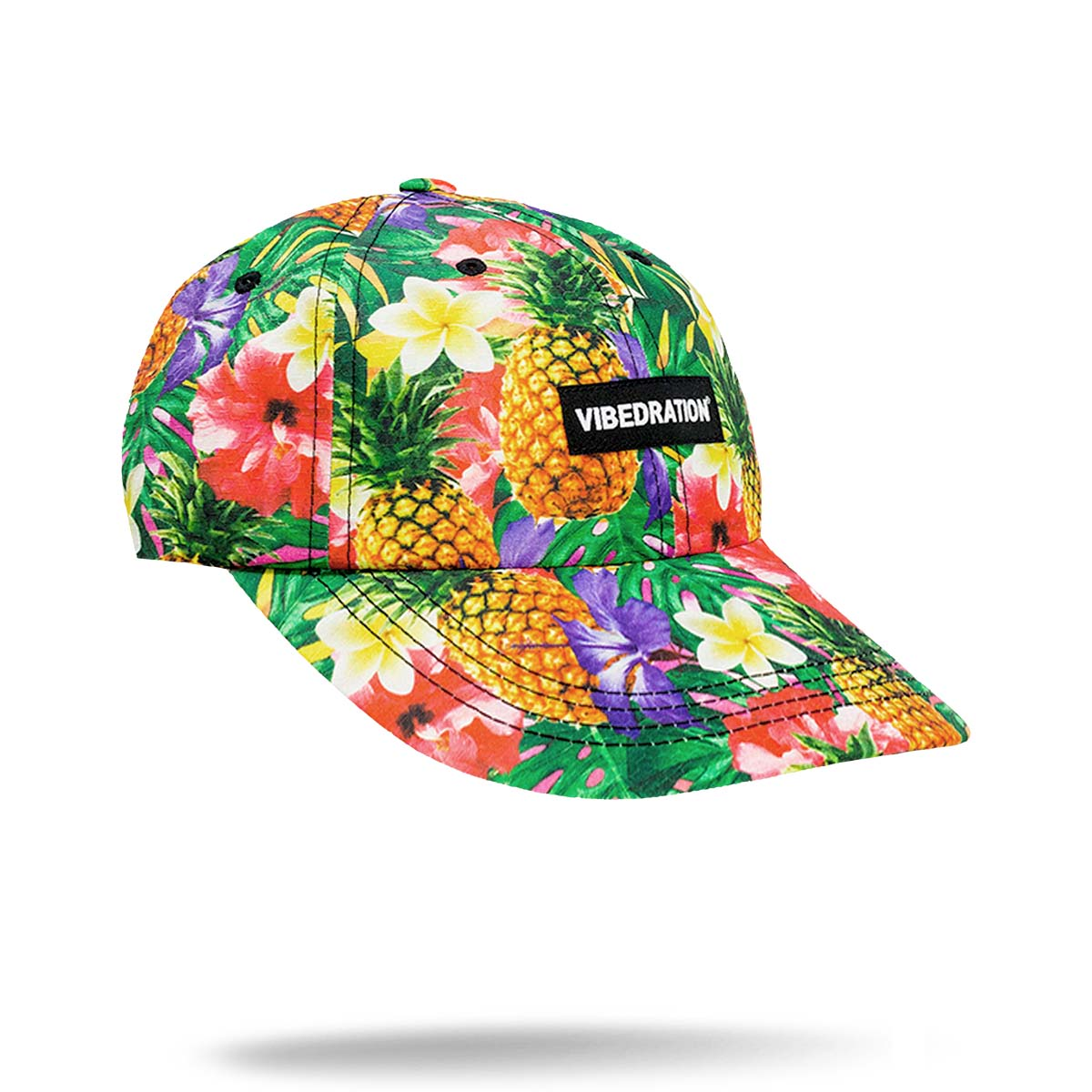 Hawaiian printed hat