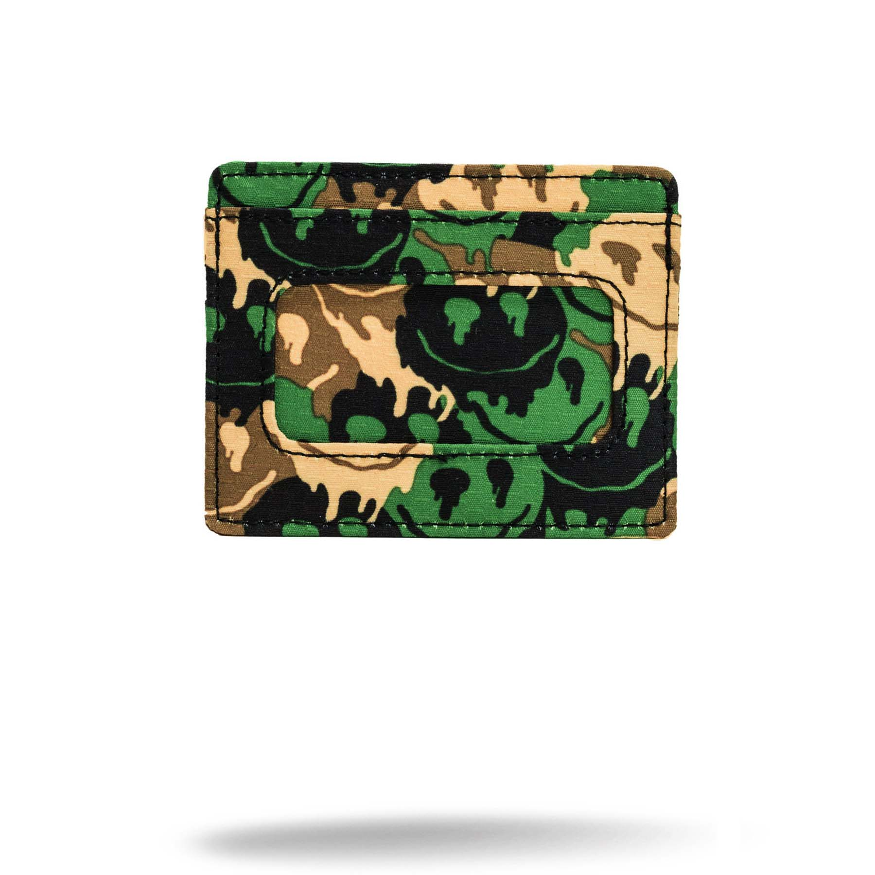 printed camo money holder