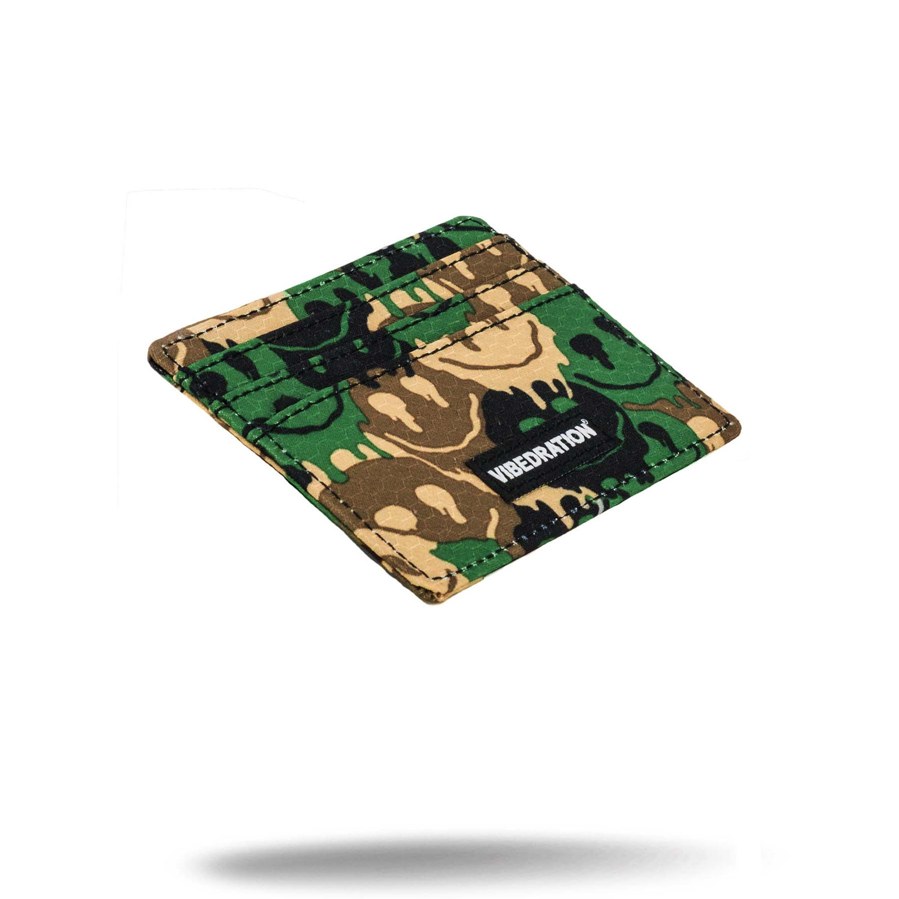 camo printed credit card money holder