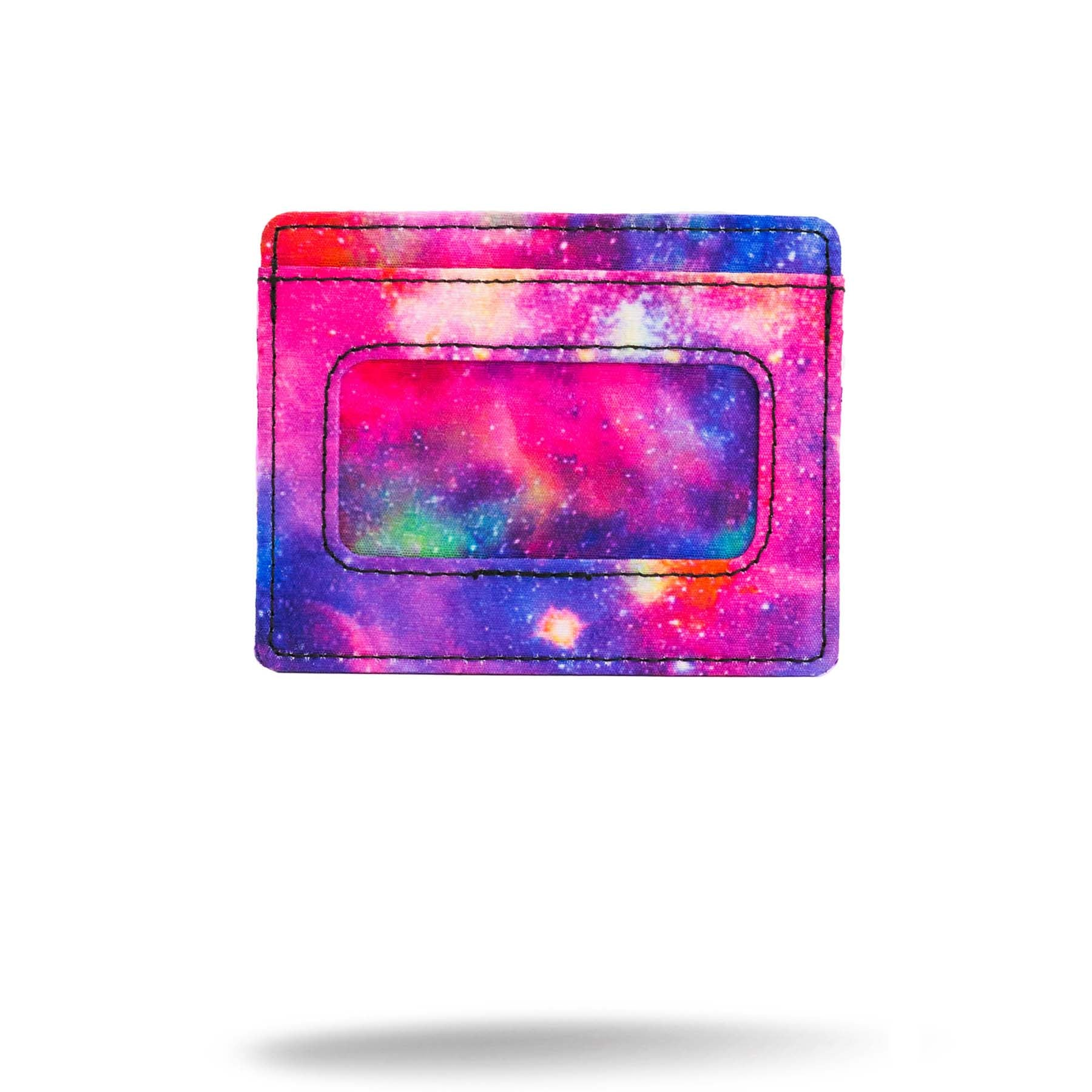 Printed Galaxy card holder