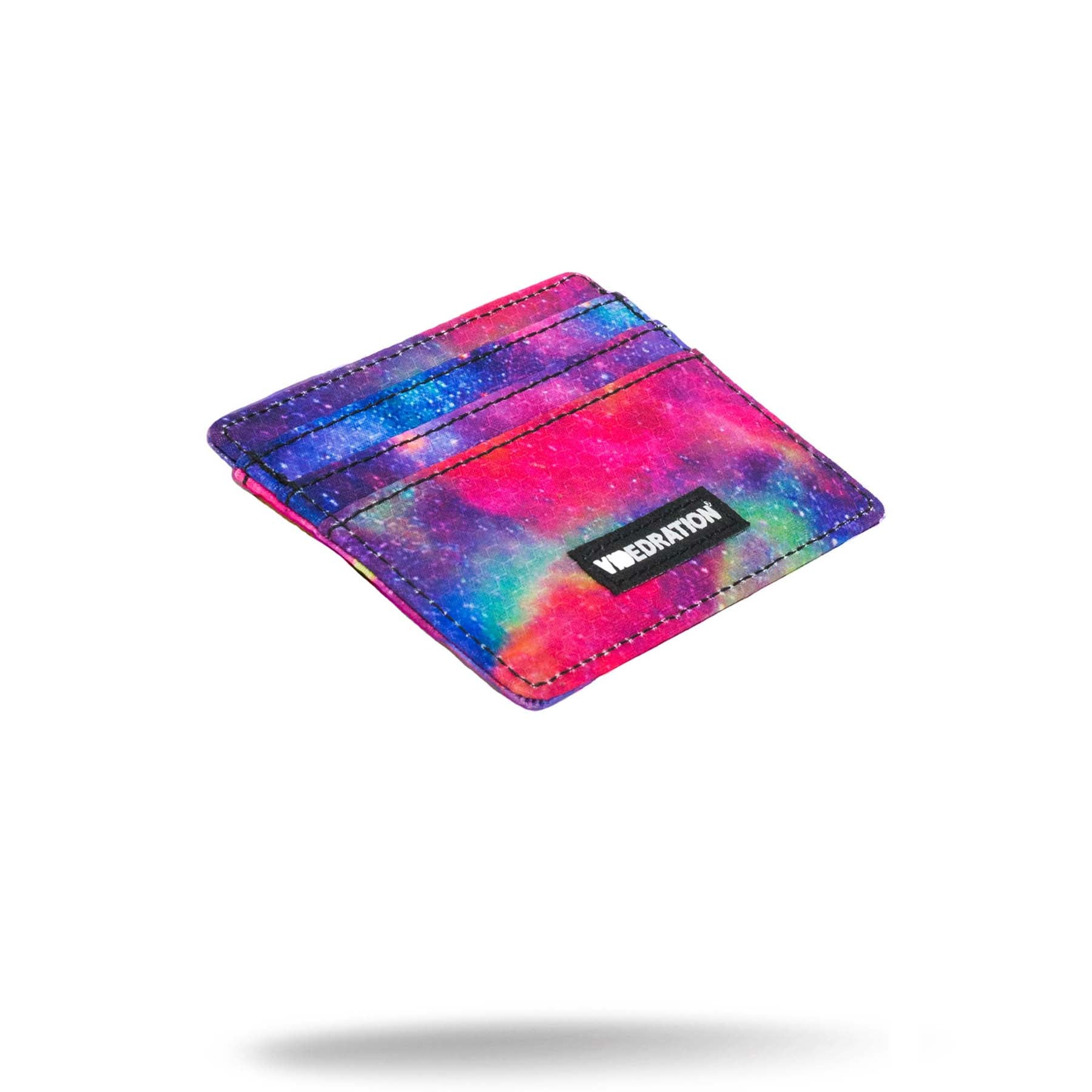 printed space credit card money holder