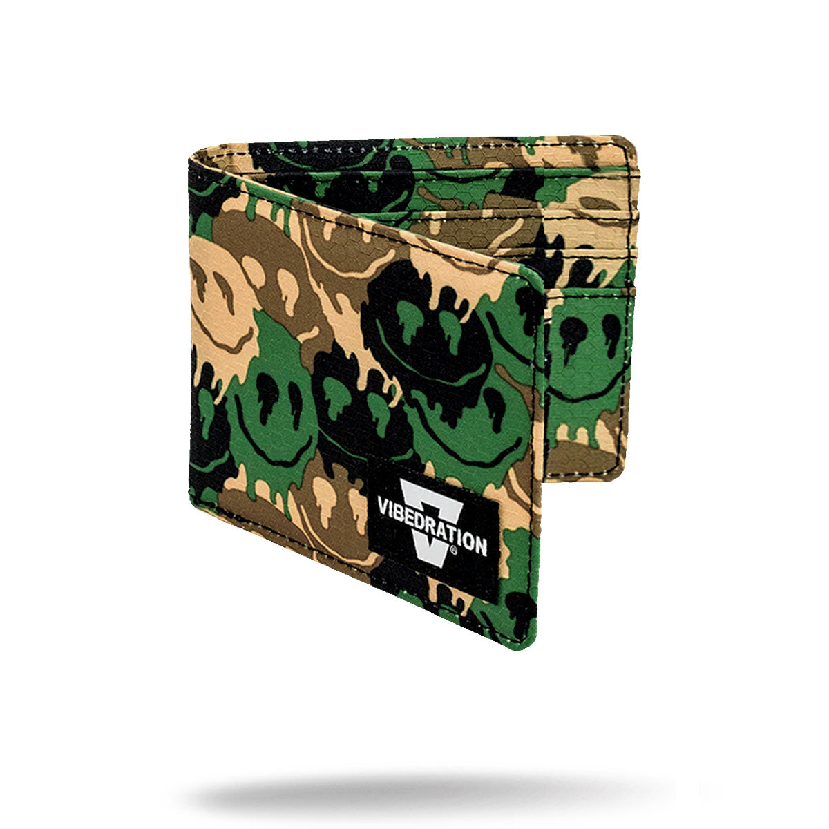 Camouflage Printed Folding Wallet