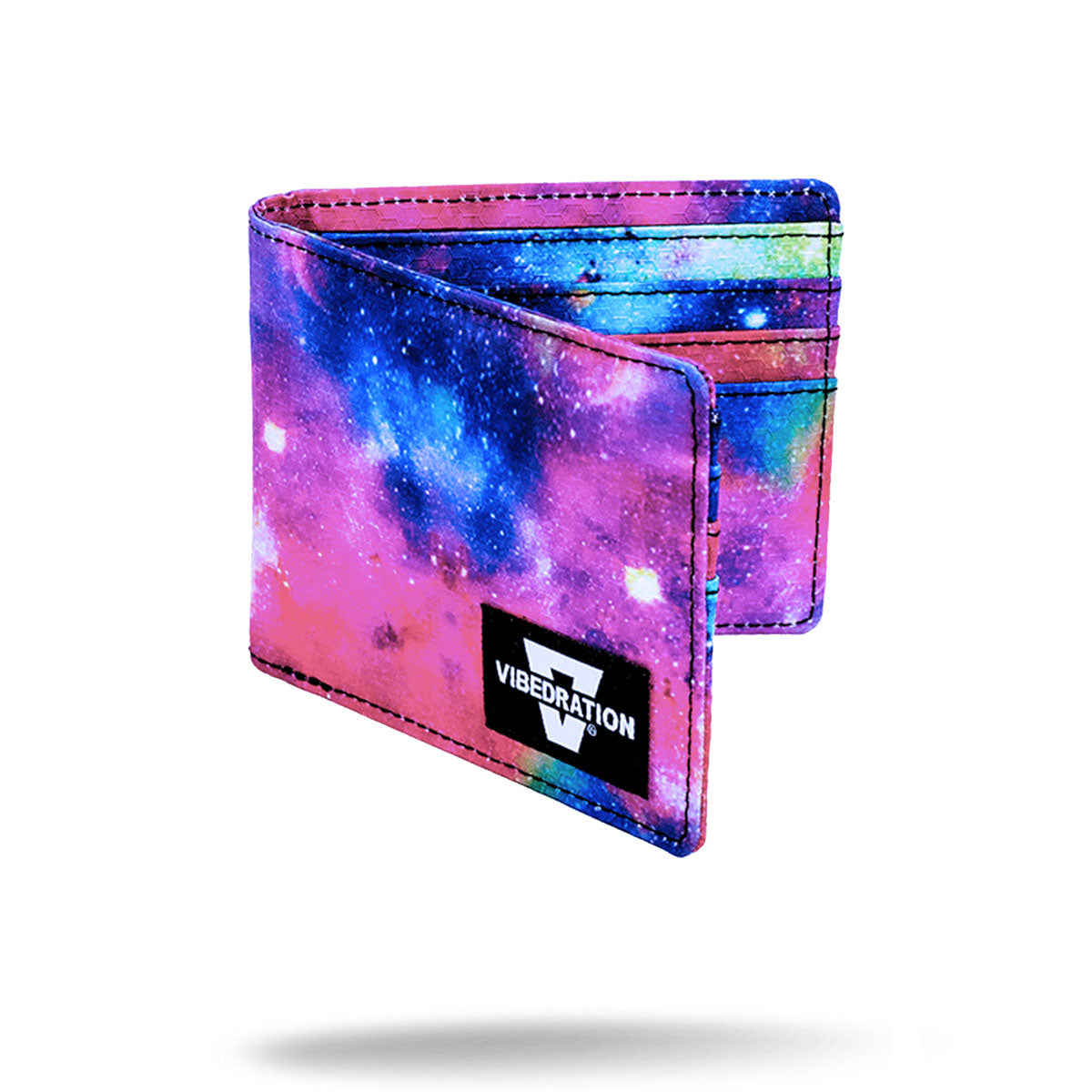 Galaxy Printed Folding Wallet