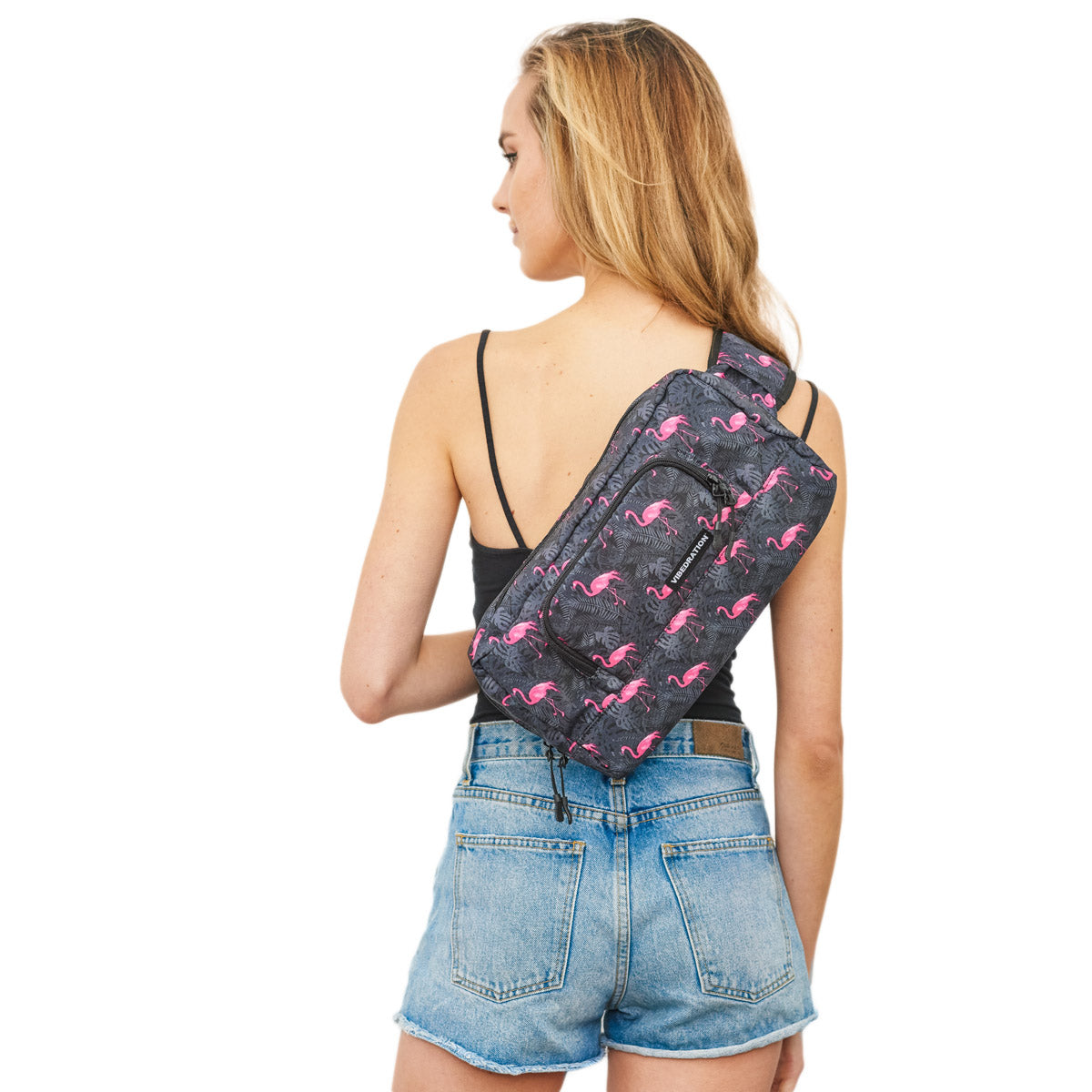 Womens Crossbody bag flamingo 1.5 L