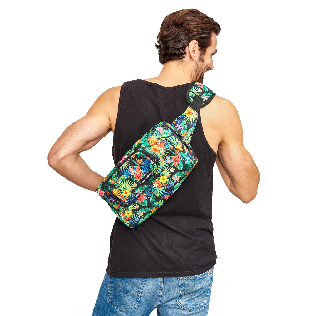 1.5 L Crossbody bag Tropical Fuzion