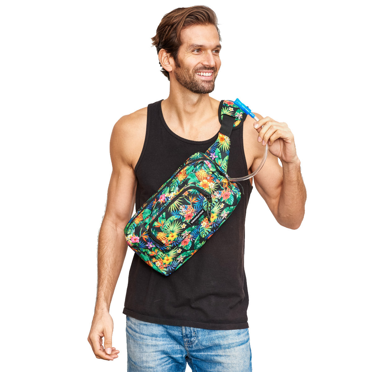 1.5 L Mens crossbody bag tropical fusion