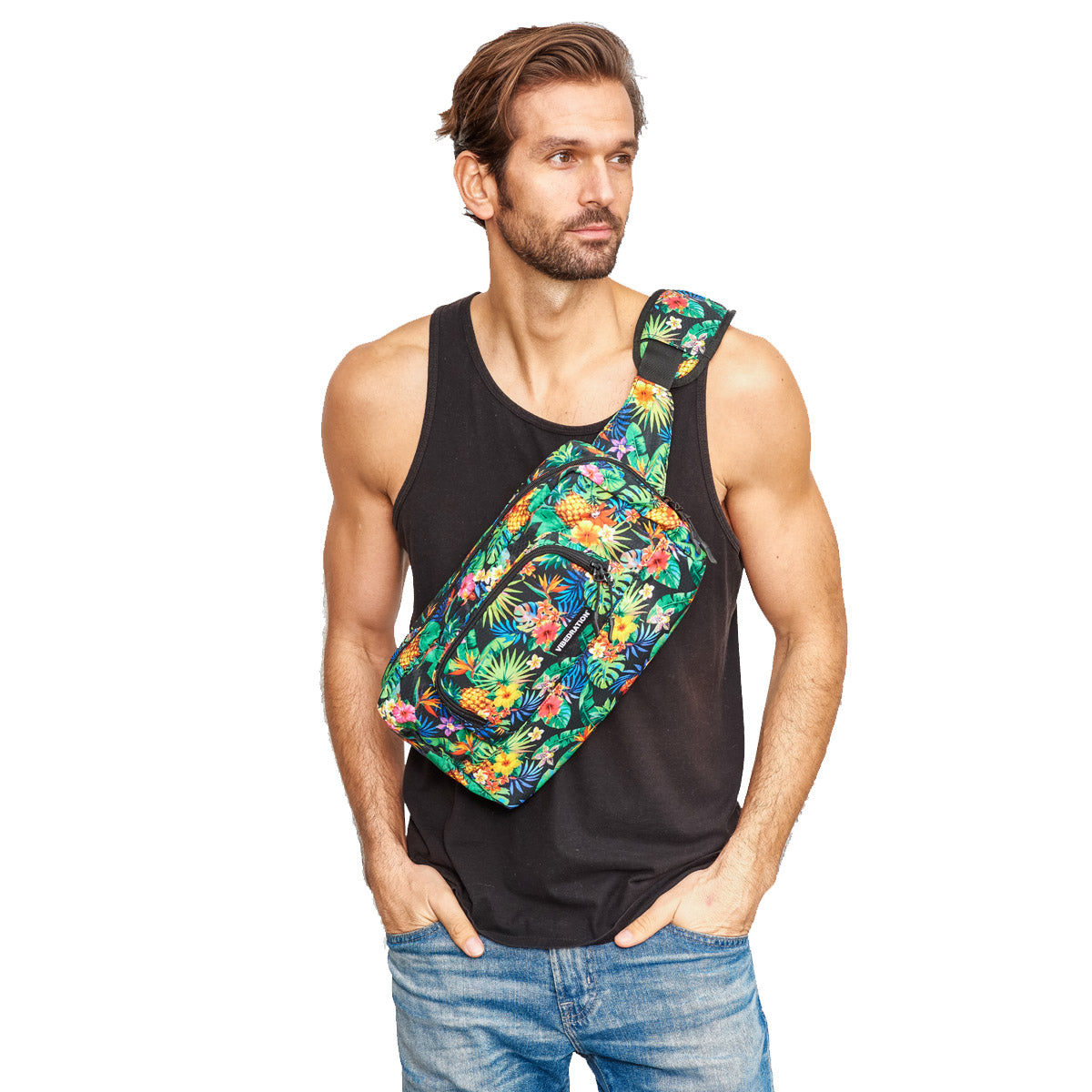 festival crossbody bag tropical fuzion 1.5 L for men