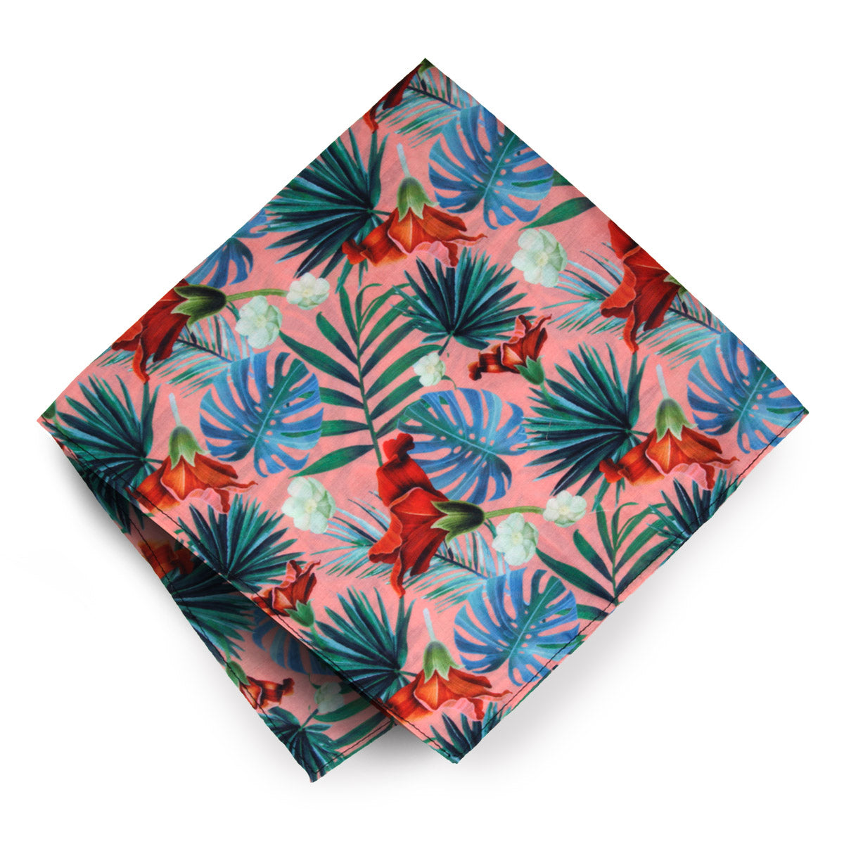 Hawaiian Print Bandana for Music Festivals