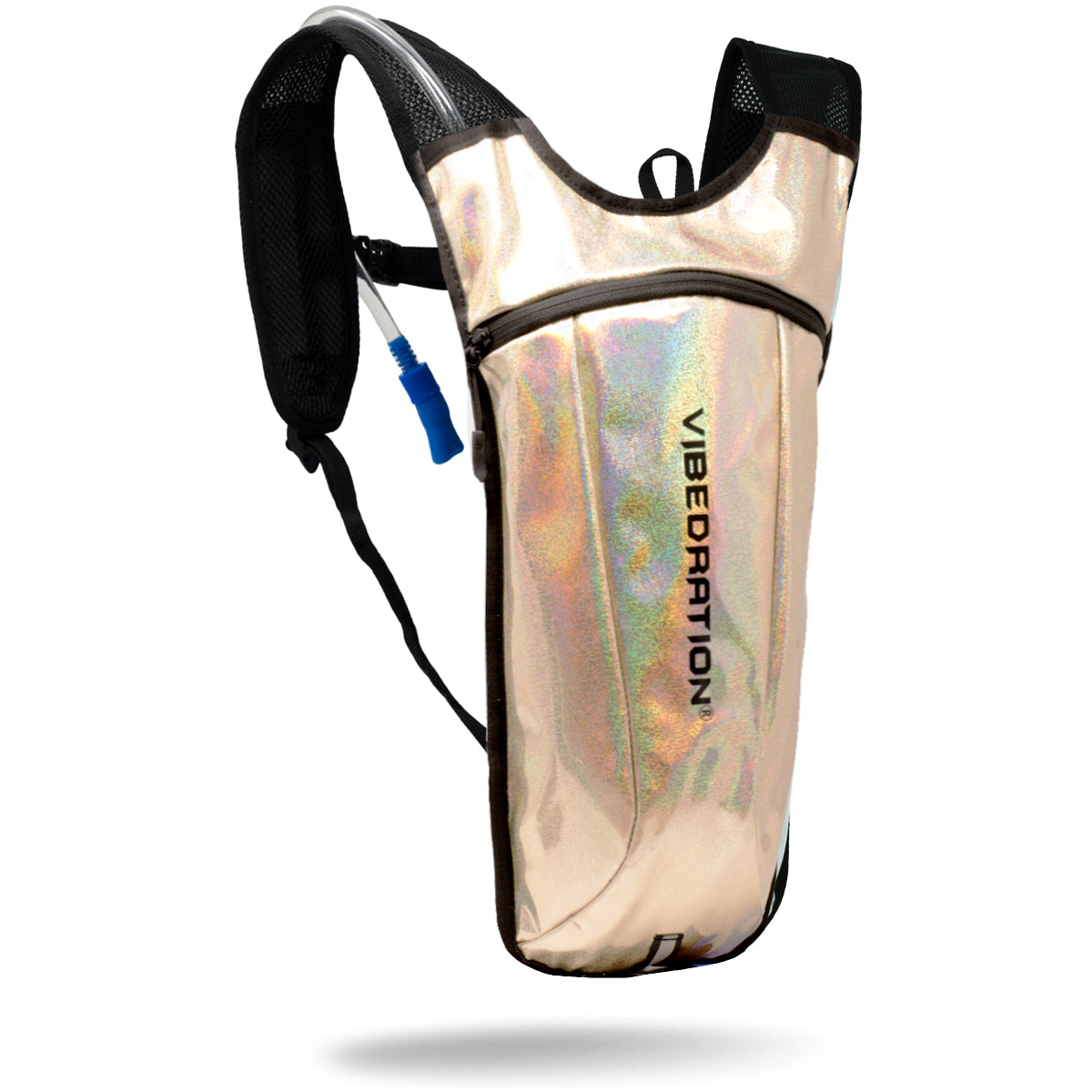 Gold small hydration bag with 2 liter water pack