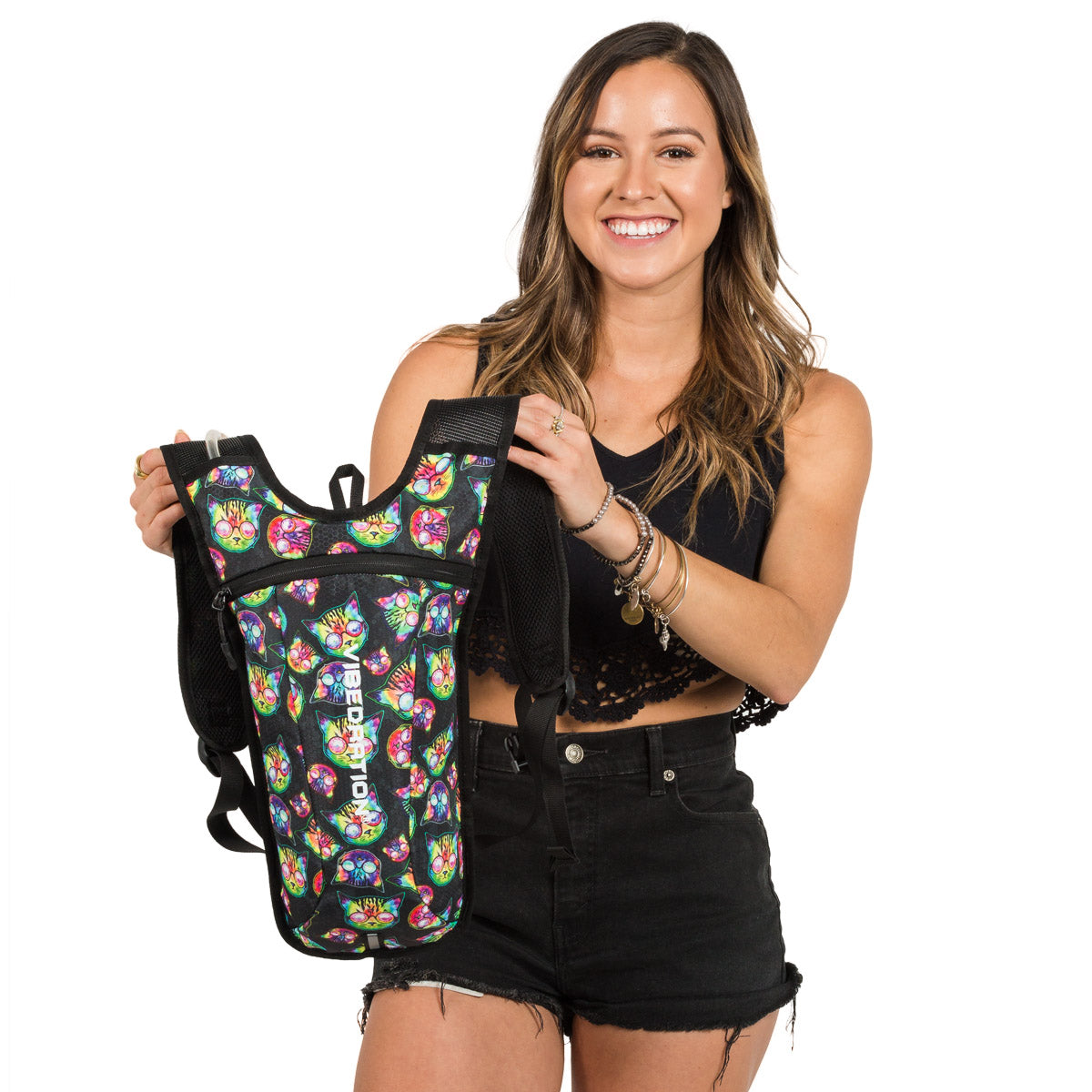 Cat Hydration Pack for Raves and Festivals