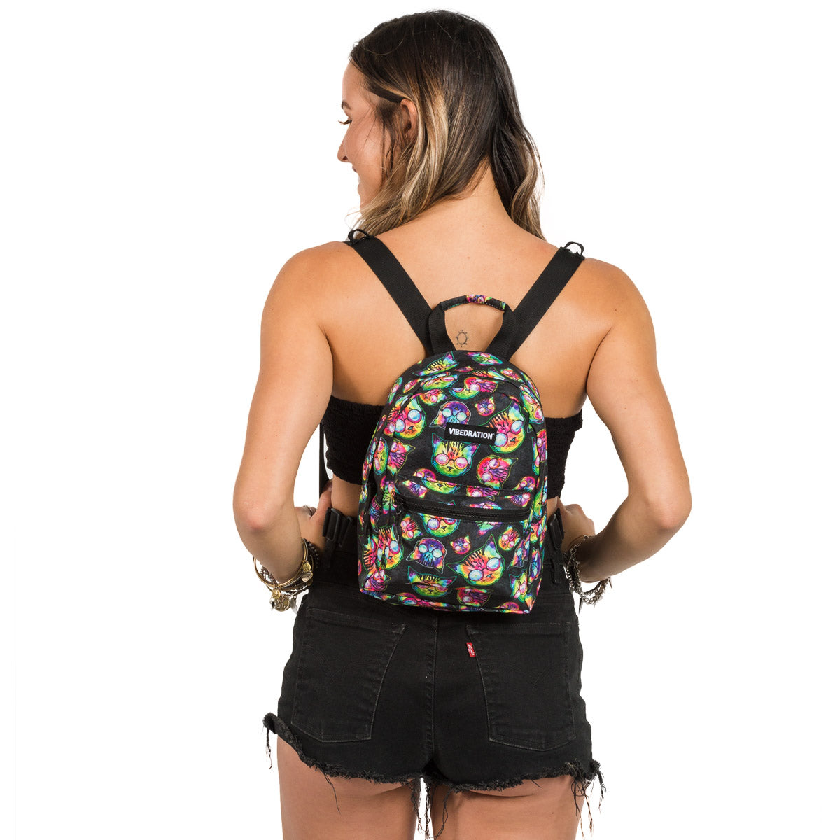 Cat Mini Backpack for Music Festivals