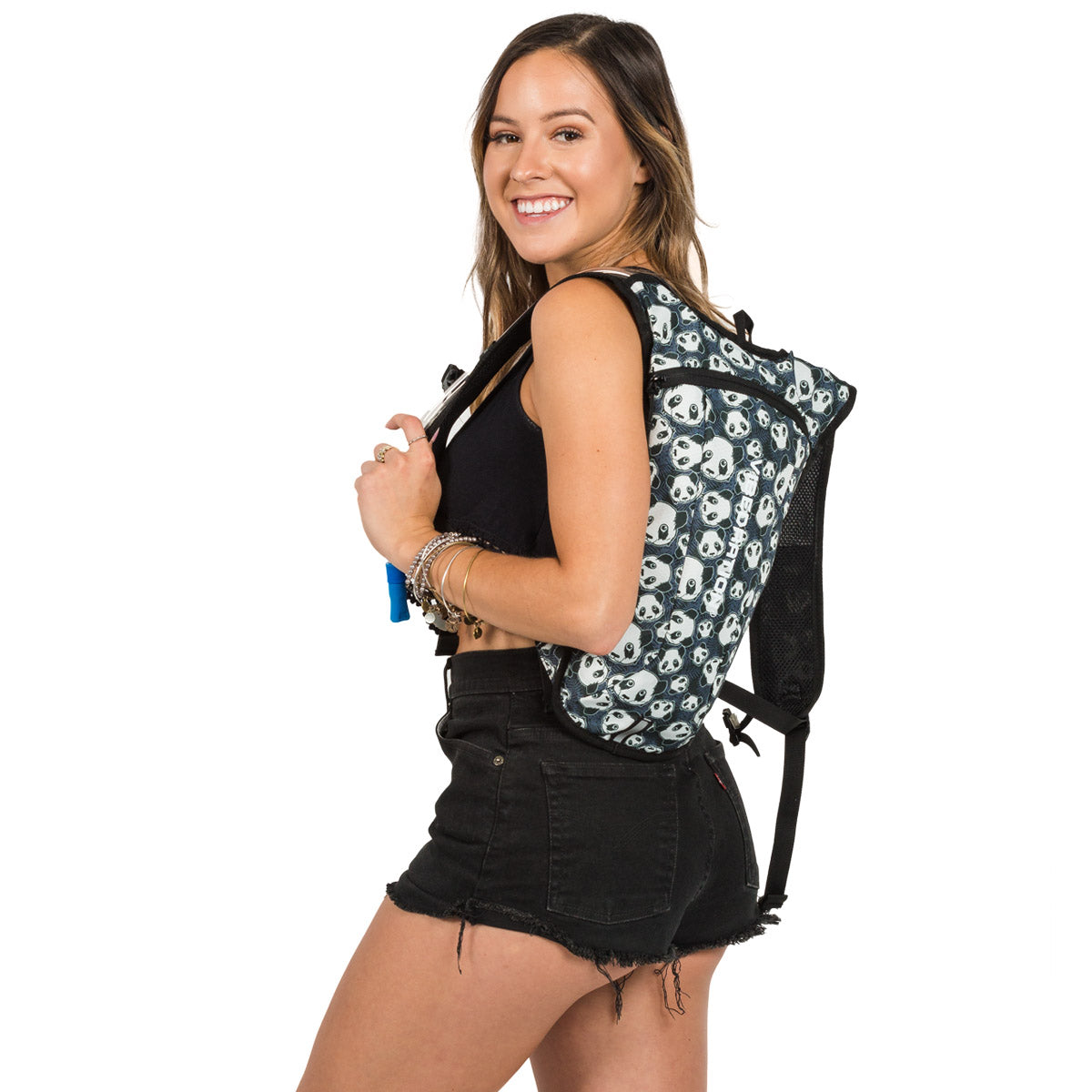 Panda Two Liter Hydration Pack for Raves and Festivals