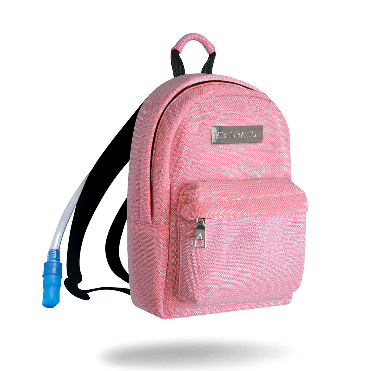 Kotton Kandi Pink Mini Rave Hydration Pack with one liter water bladder.
