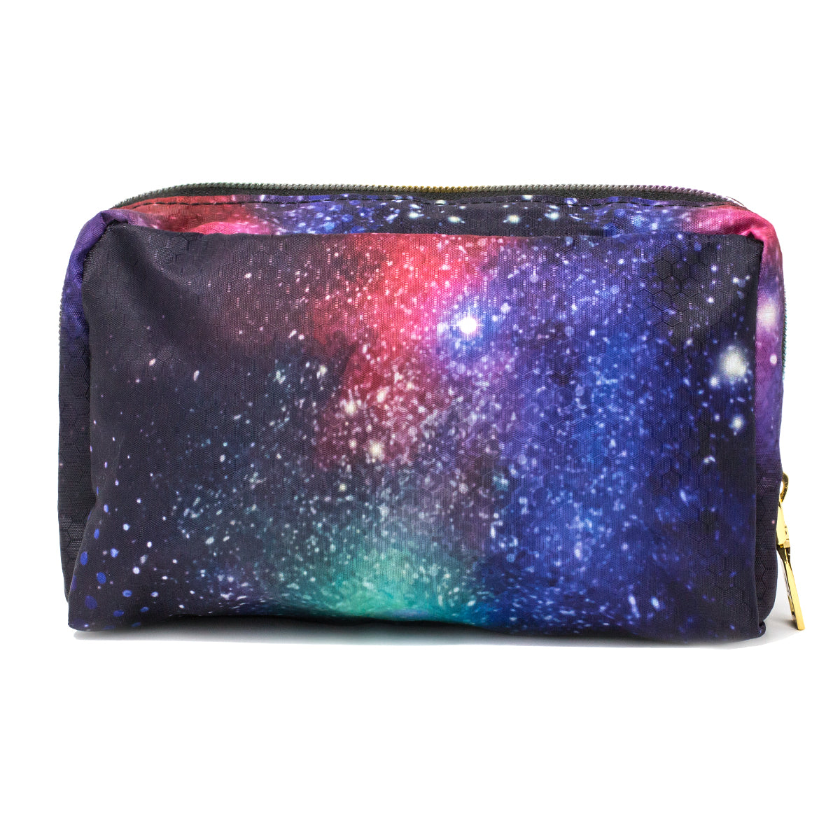 Blue, Purple & Red Galaxy printed Makeup Bag