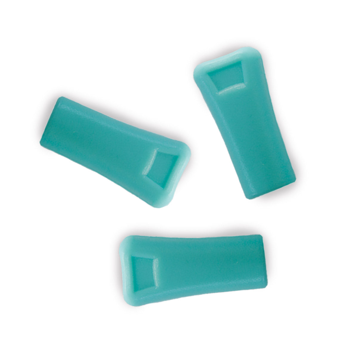 Teal replacement mouthpieces for vibedration hydration bladderss