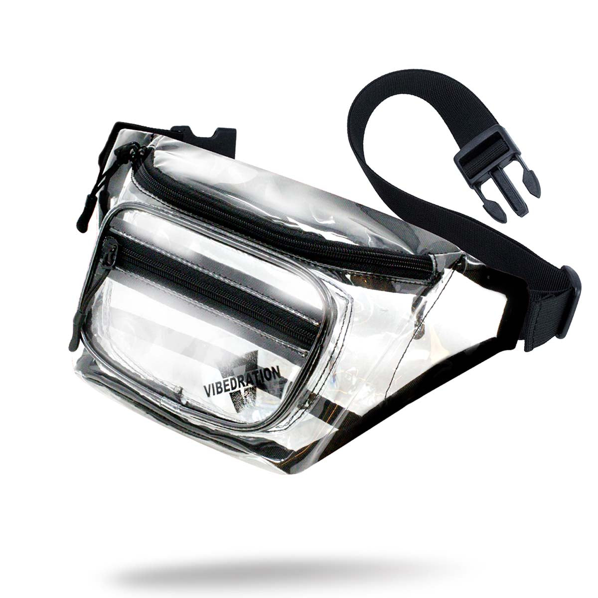 Crystal clear sling pack for music festivals
