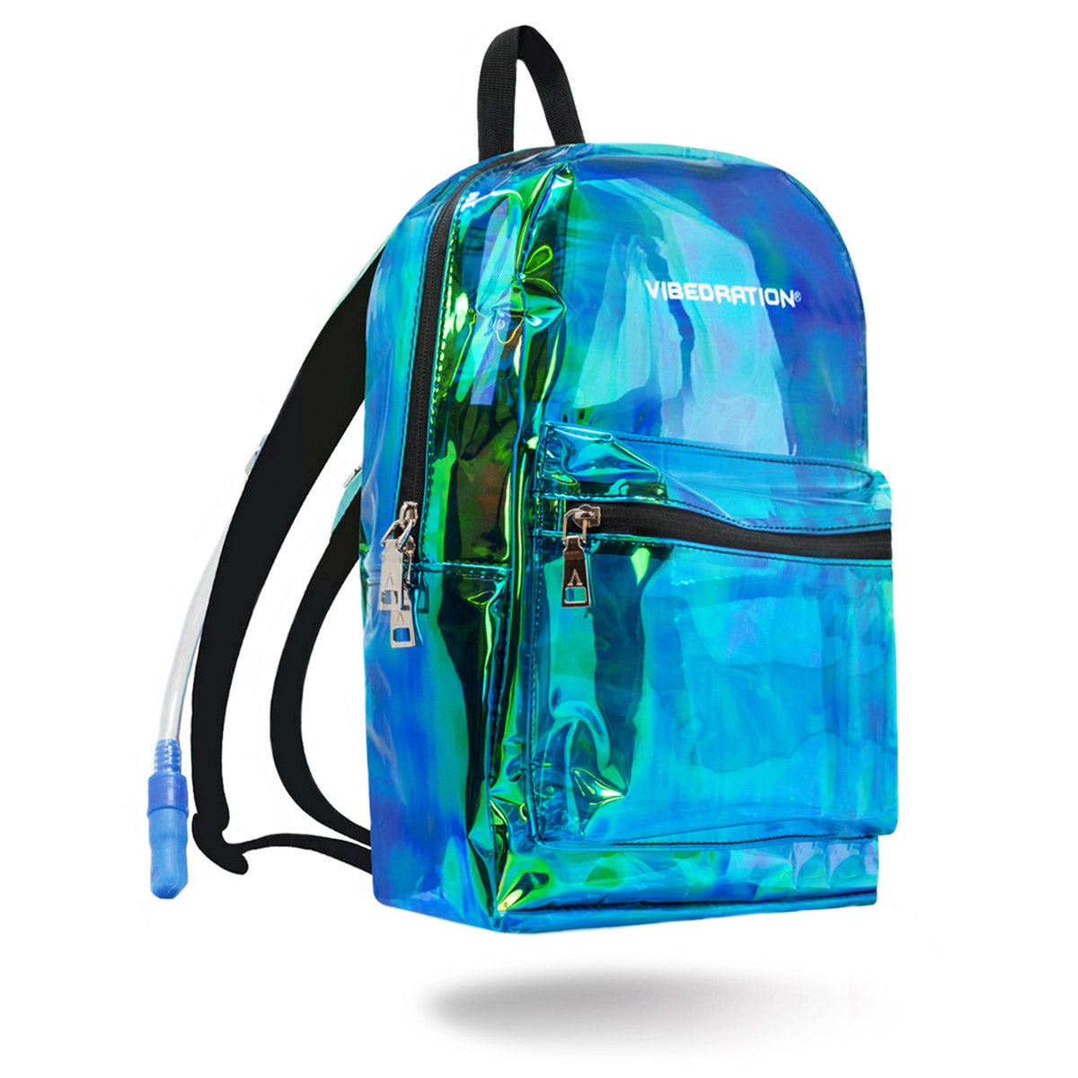 2d6350ec9b Clear Rave Backpack by VIBEDRATION - 1.5 Liter Water Capacity