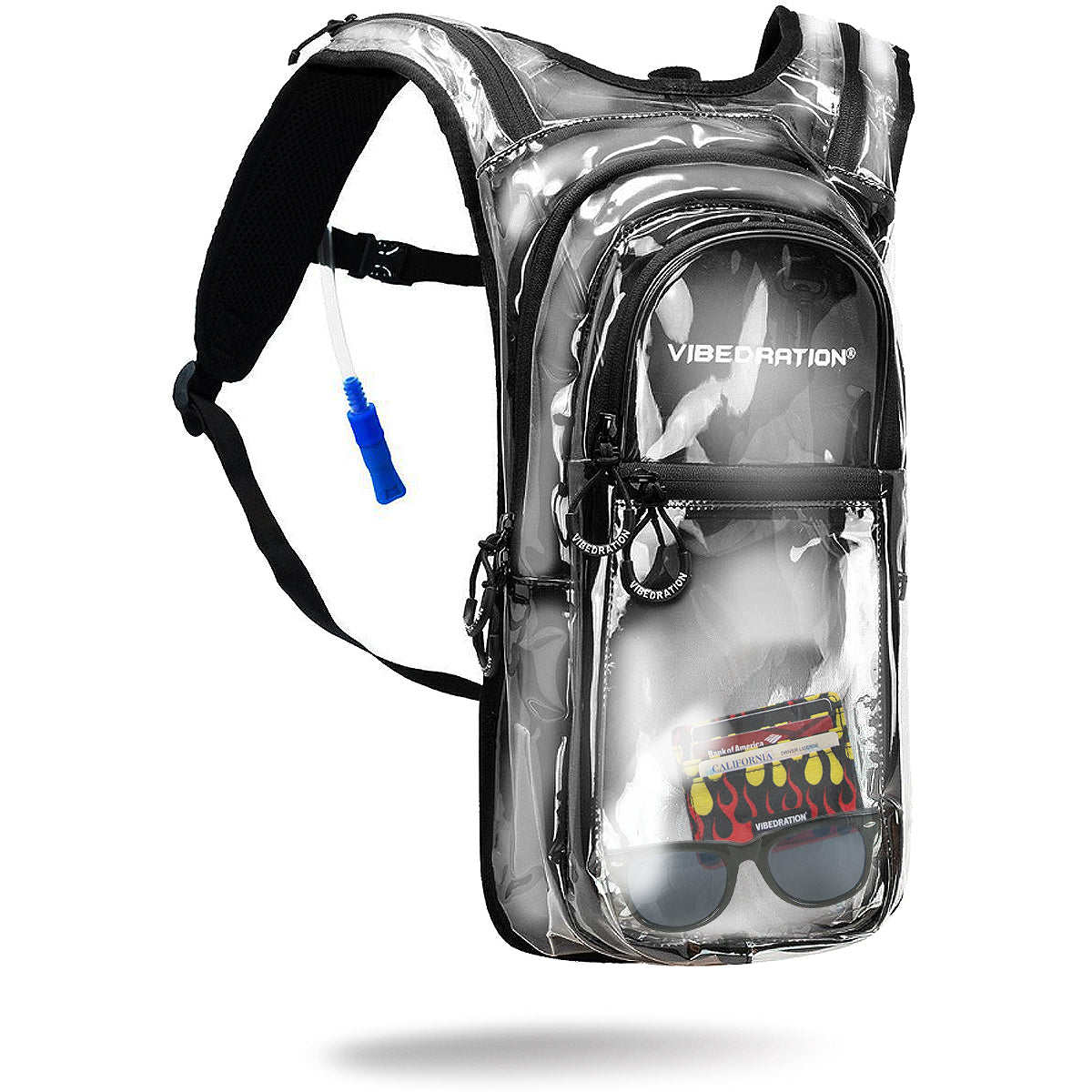 Crystal Clear VIP Bonnaroo Festival Hydration Pack VIP 2.0L - Product Shot