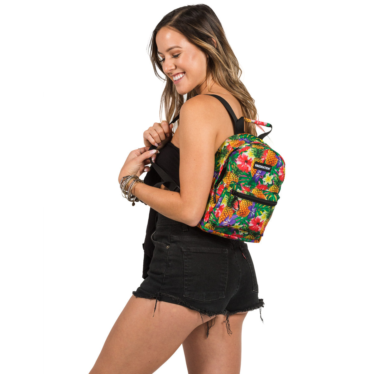 Hawaiian Mini Backpack for Music Festivals
