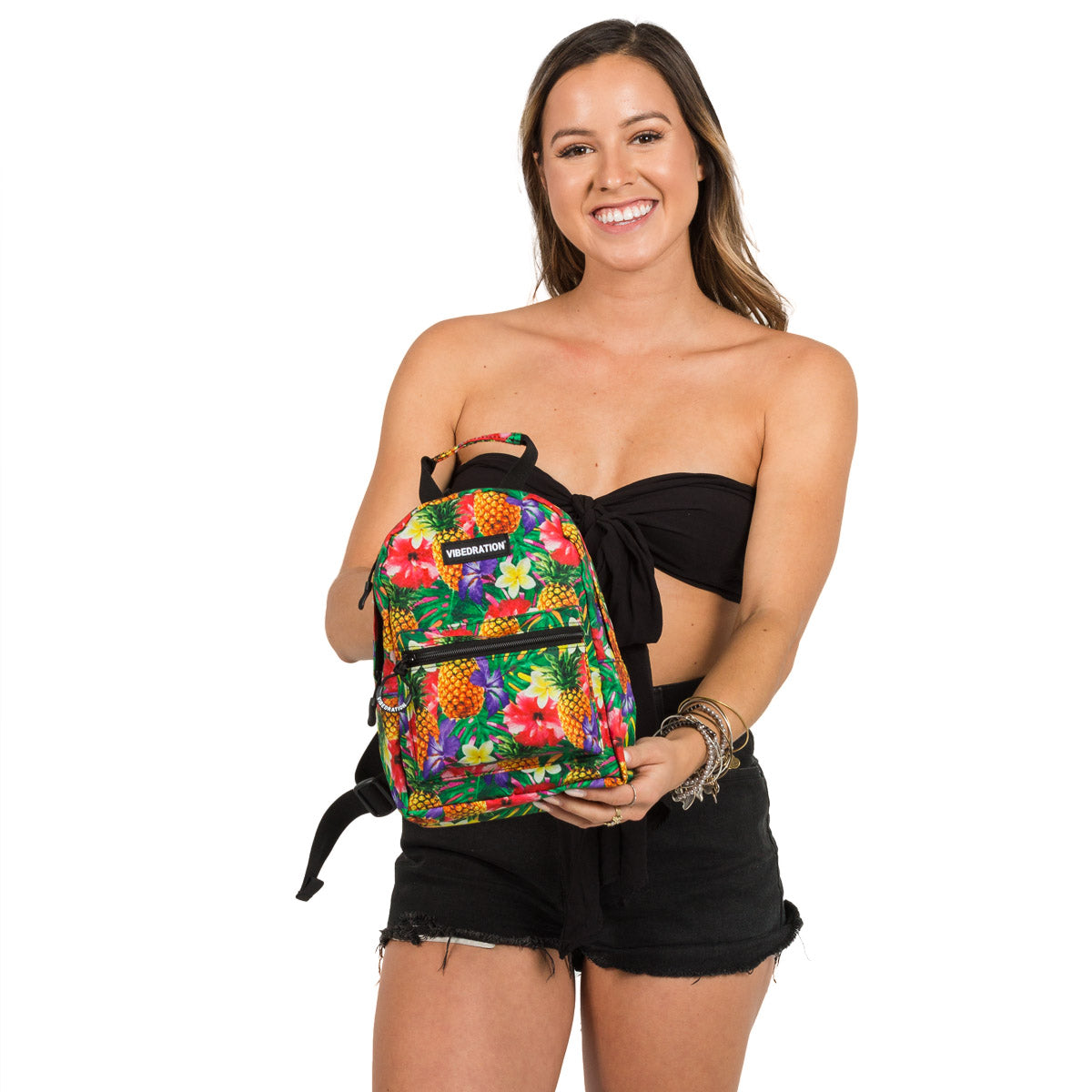 Hawaiian Mini Backpack for Raves