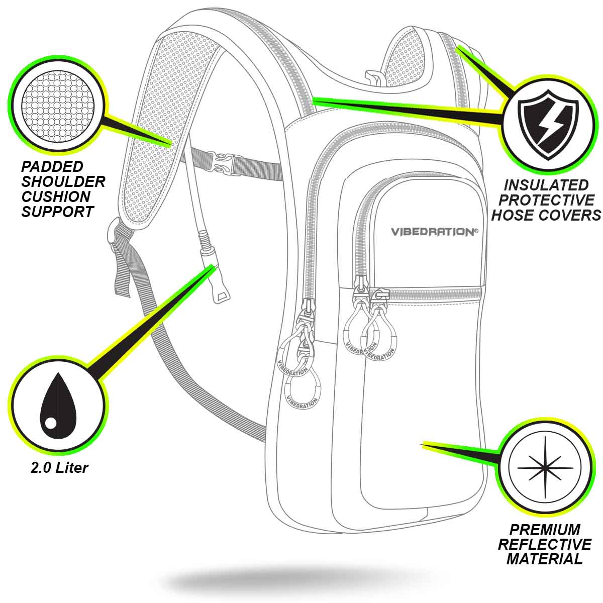 VIP 2.0L Pack + Sling Pack