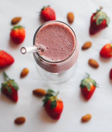 Strawberry-Banana Surprise Smoothie