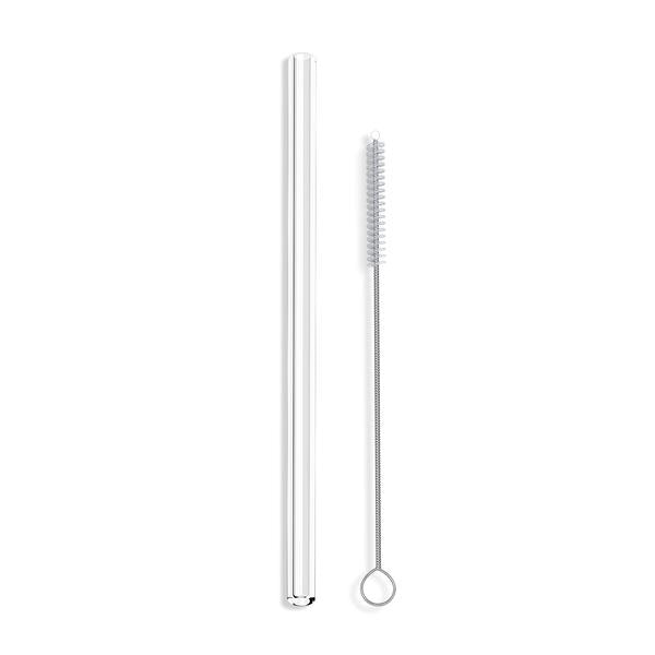 Clear Straight Single Straw