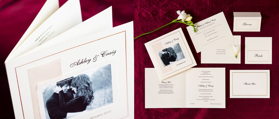 personal wedding invitations and stationery