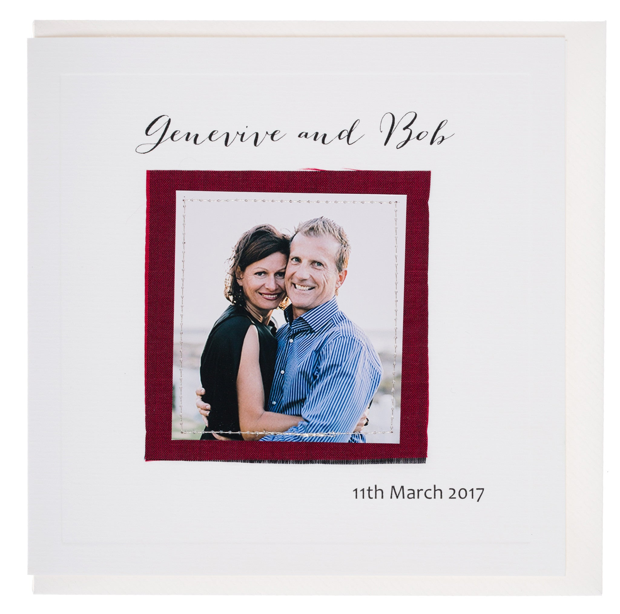 Wedding Invitation - Genevive & Bob
